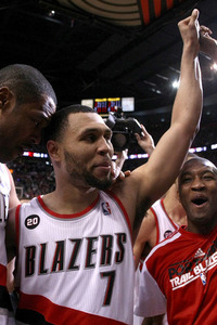 Brandon Roy was waived by the Blazers before last season. (Getty Images)