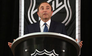 NHL commissioner Gary Bettman. (Getty)