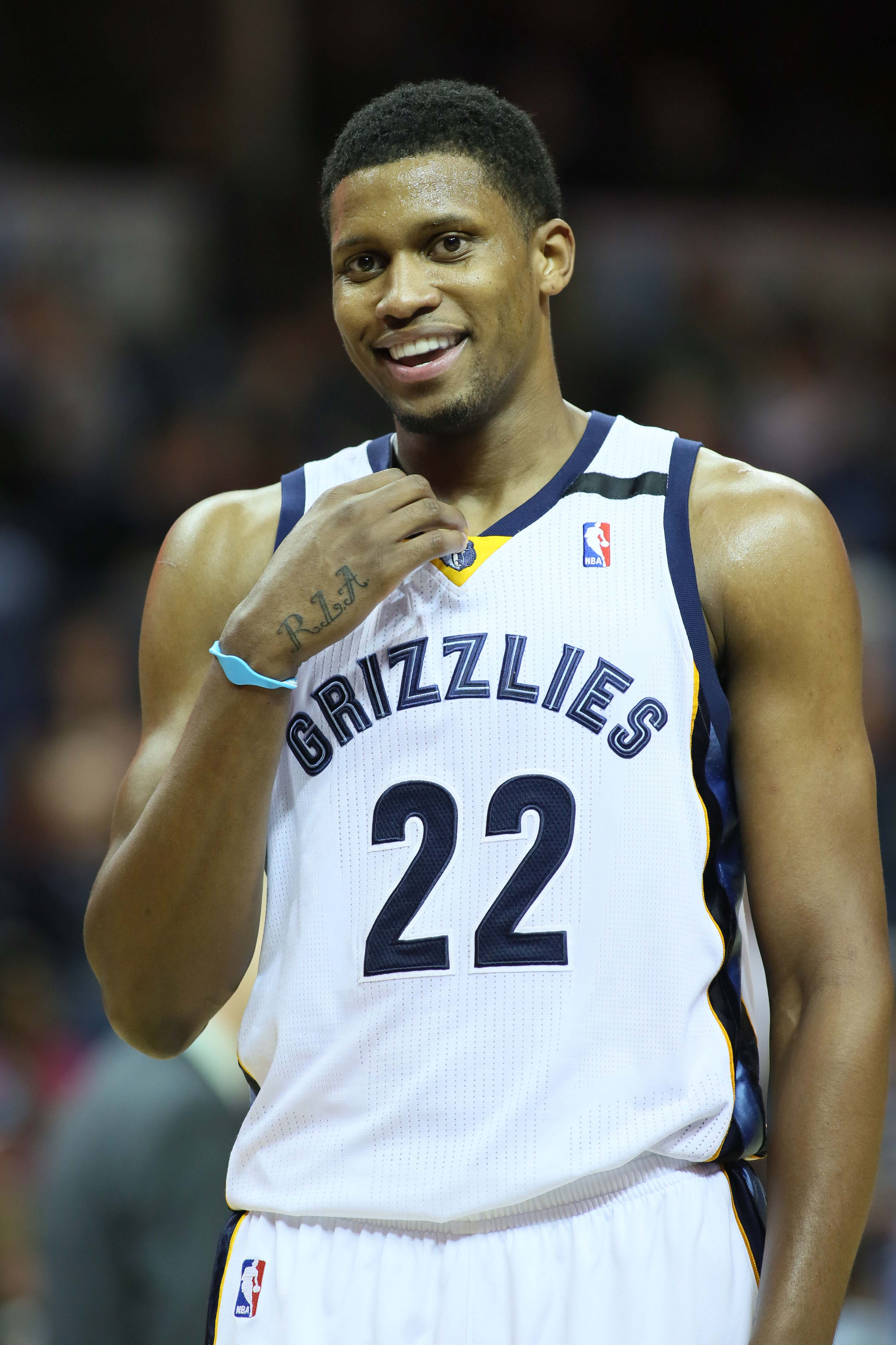 Rudy Gay wants to stay in Memphis but says he would be happy playing anywhere. (USA Today Sports)