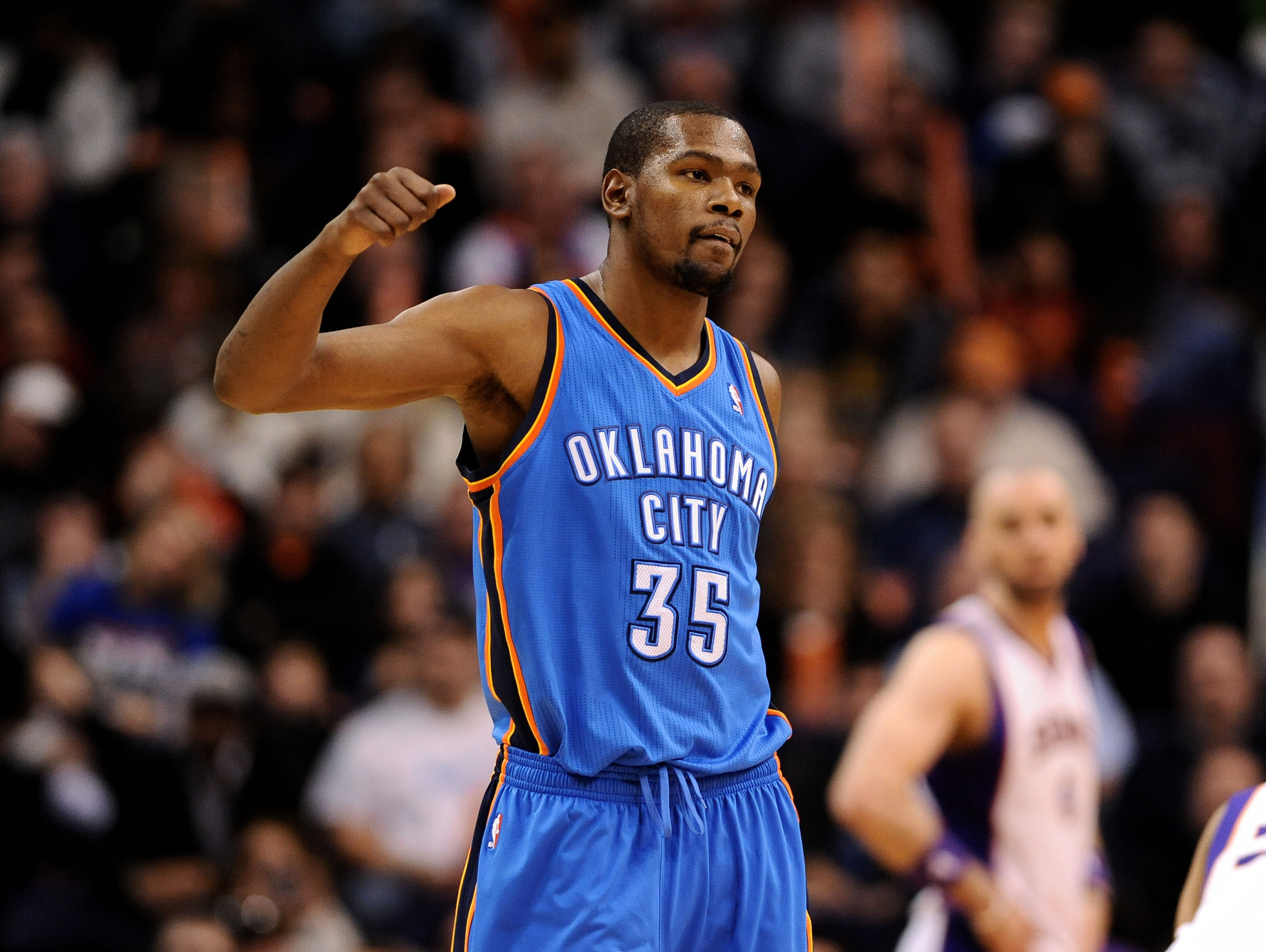 Kevin Durant and the Thunder are riding a four-game winning streak. (USA Today Sports)