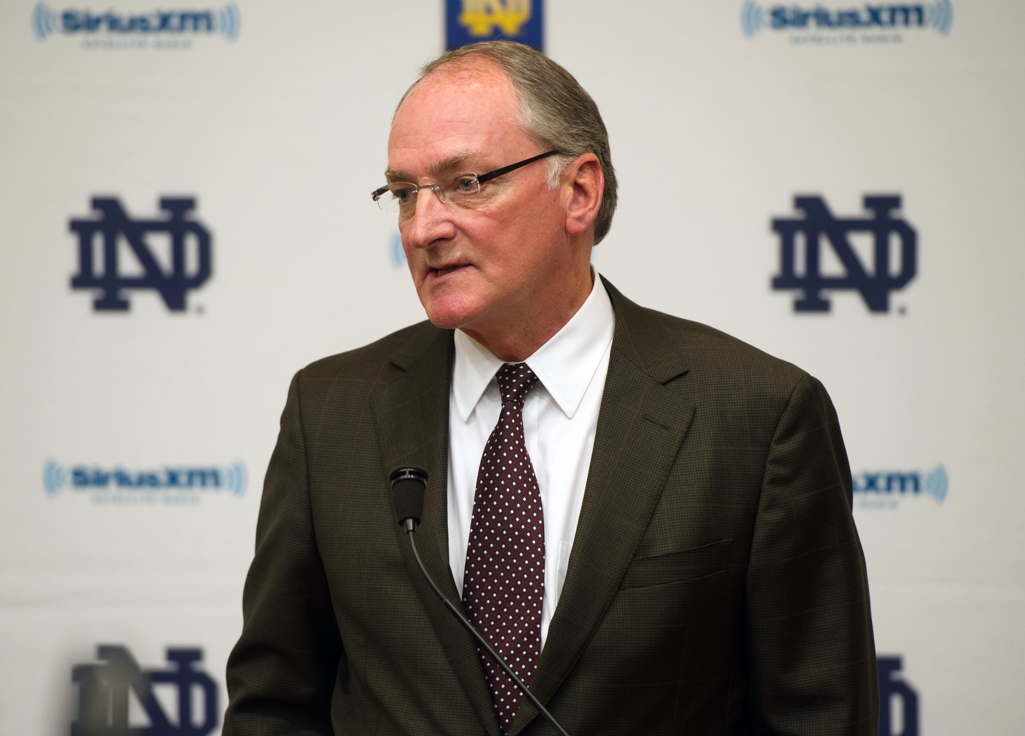 Notre Dame AD Jack Swarbrick has no interest in being on the playoff selection committee. (USA Today Sports)