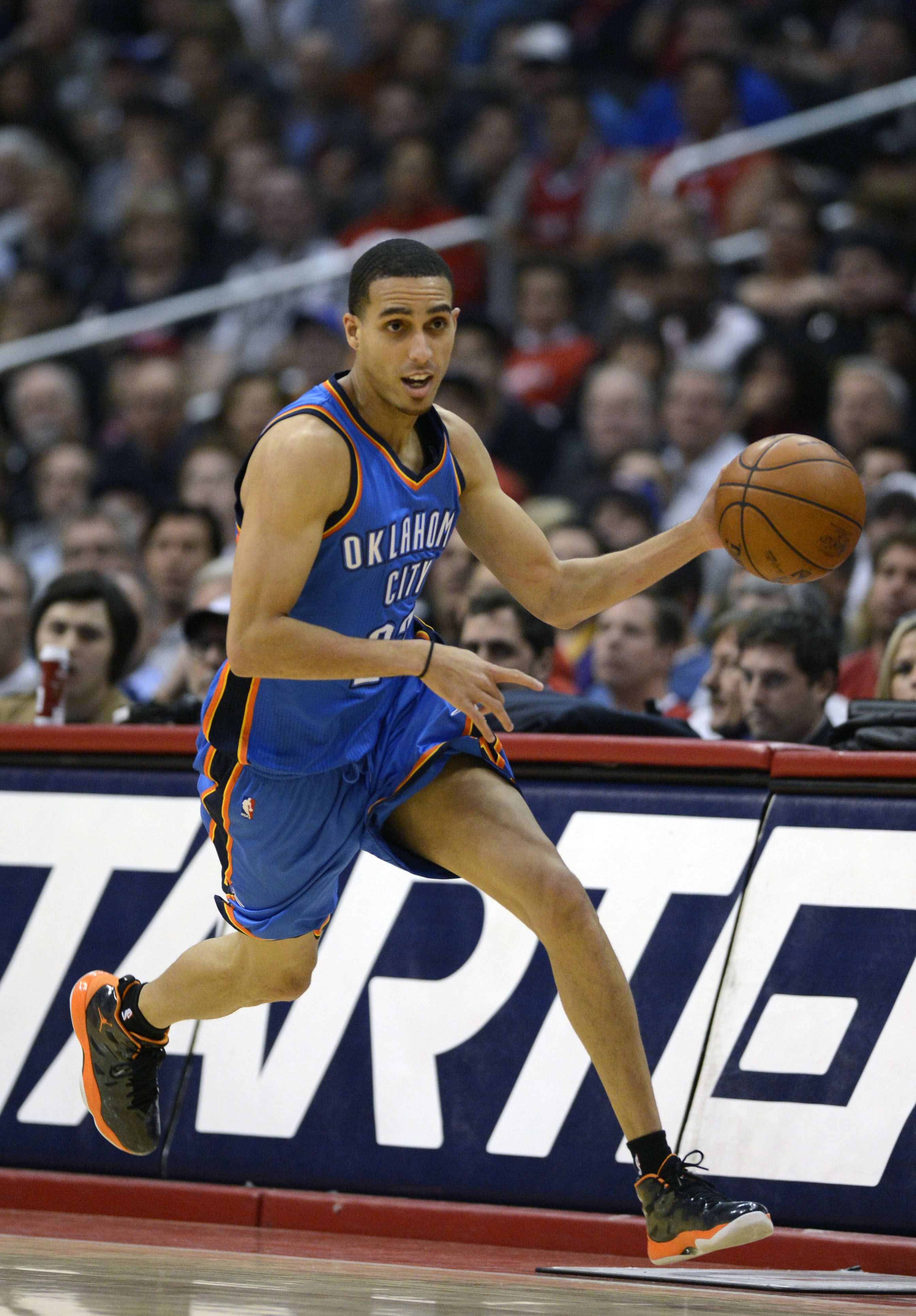 The Thunder's Kevin Martin is in the last year of his contract. (USA Today Sports)