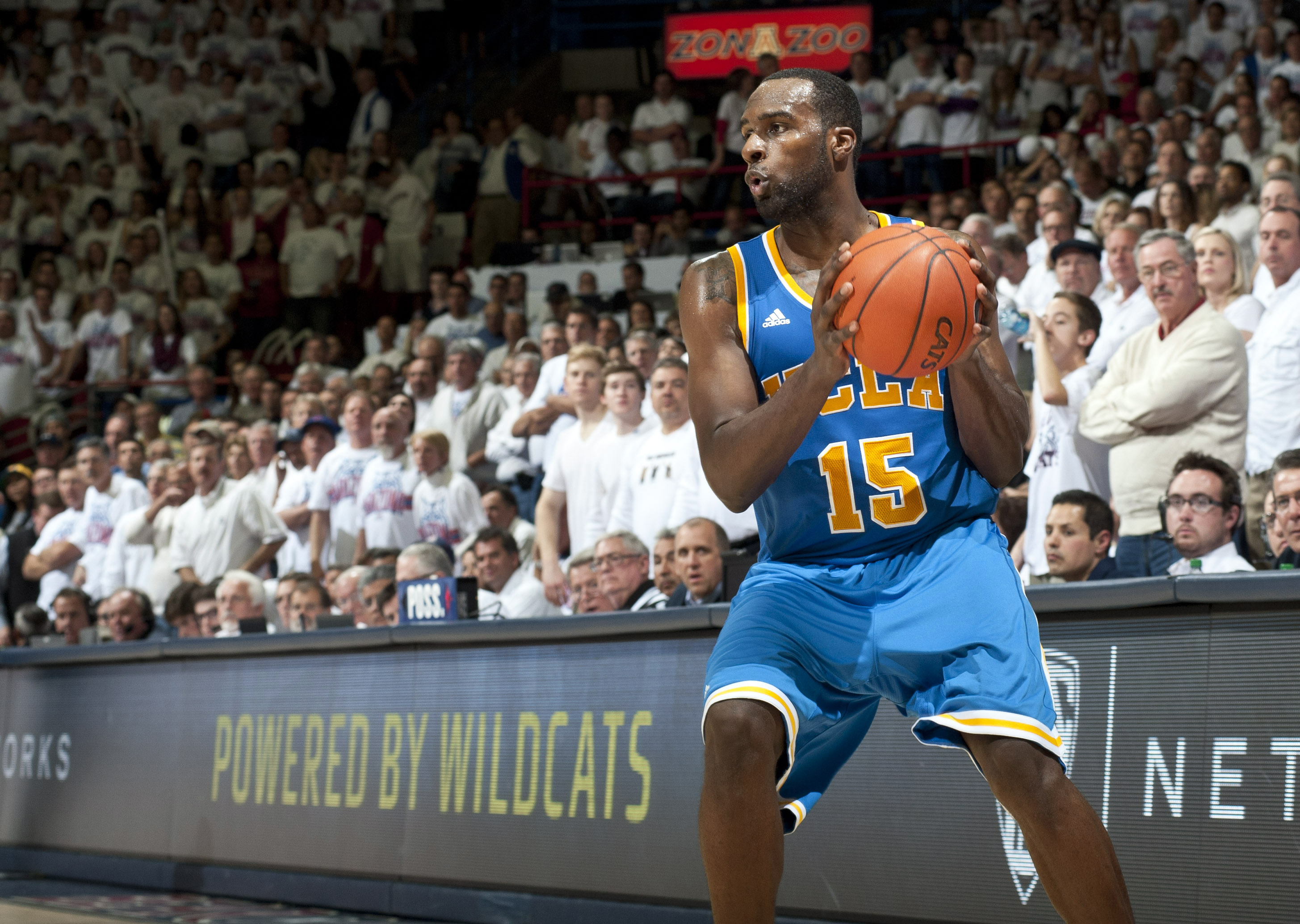 Shabazz Muhammad scored 23 points to lead UCLA past Arizona. (USA Today Sports)