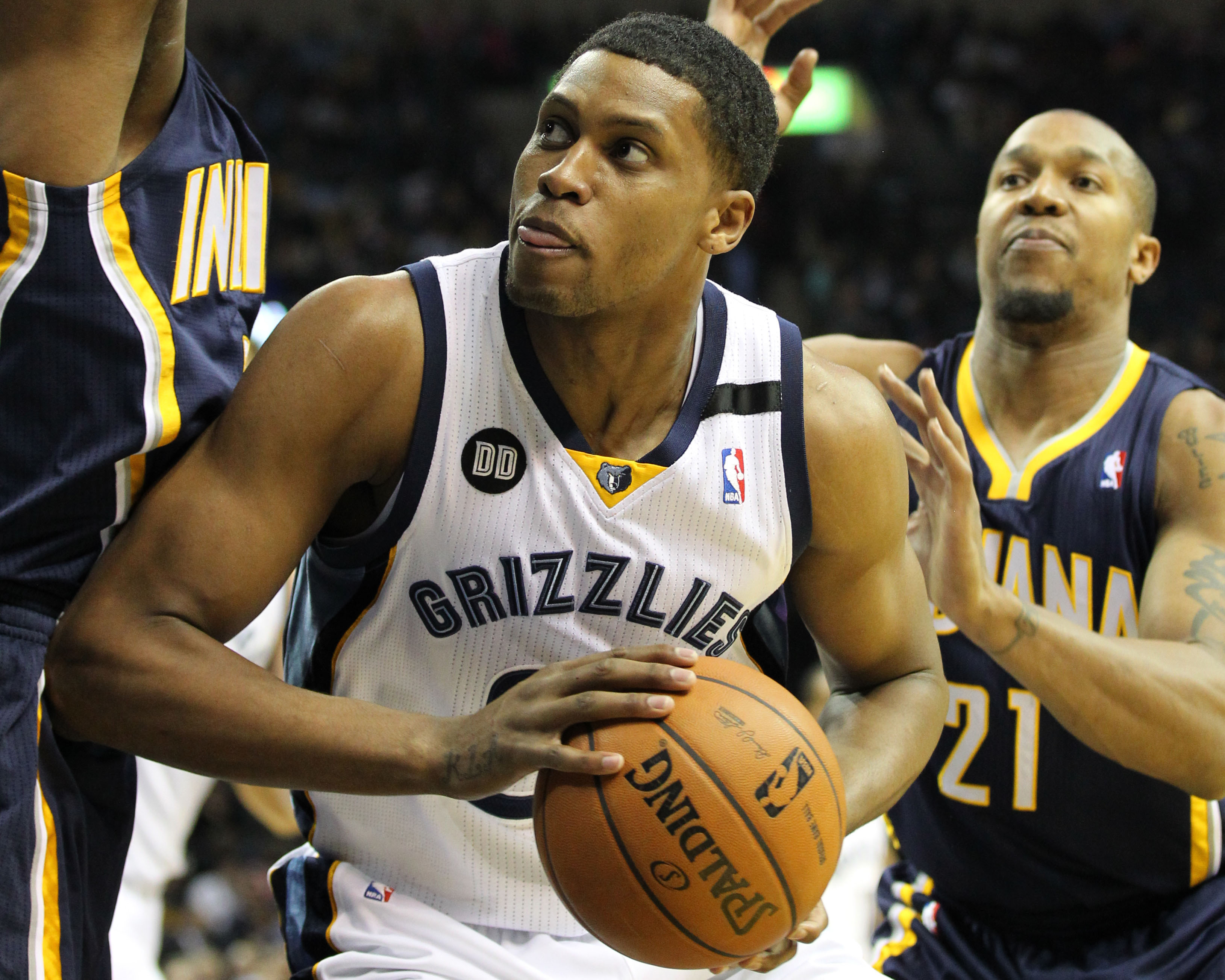 Rudy Gay spent the first 6 1/2 seasons of his career in Memphis. (USA Today Sports)