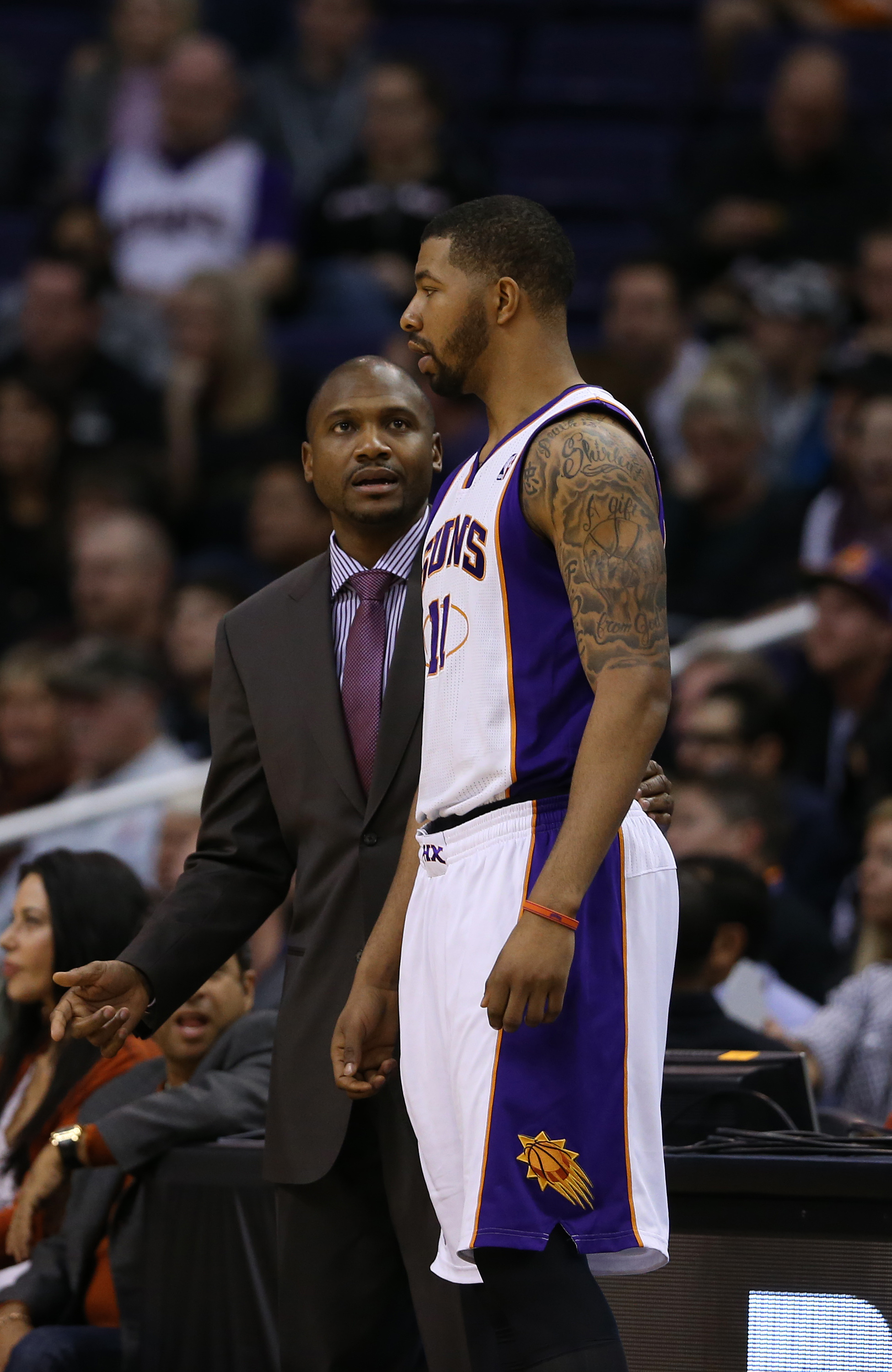 Lindsey Hunter is 3-4 as the interim coach of the Suns. (USA Today Sports)