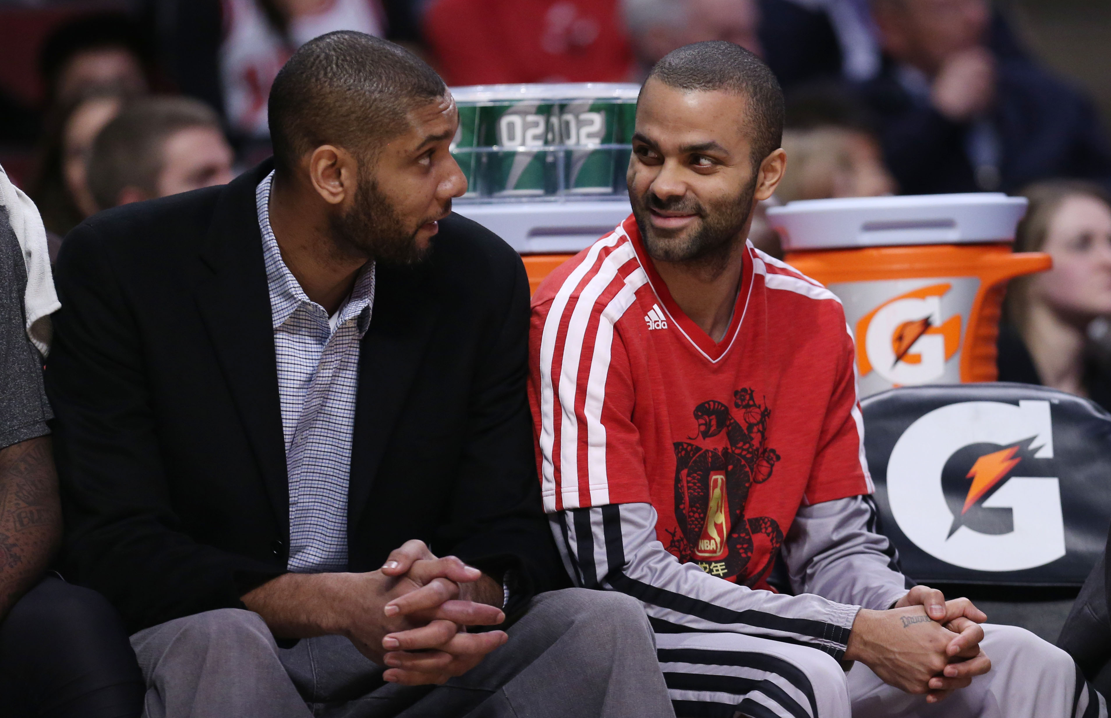 The Spurs rolled Monday night with Tim Duncan and Tony Parker not playing. (USA TODAY Sports)