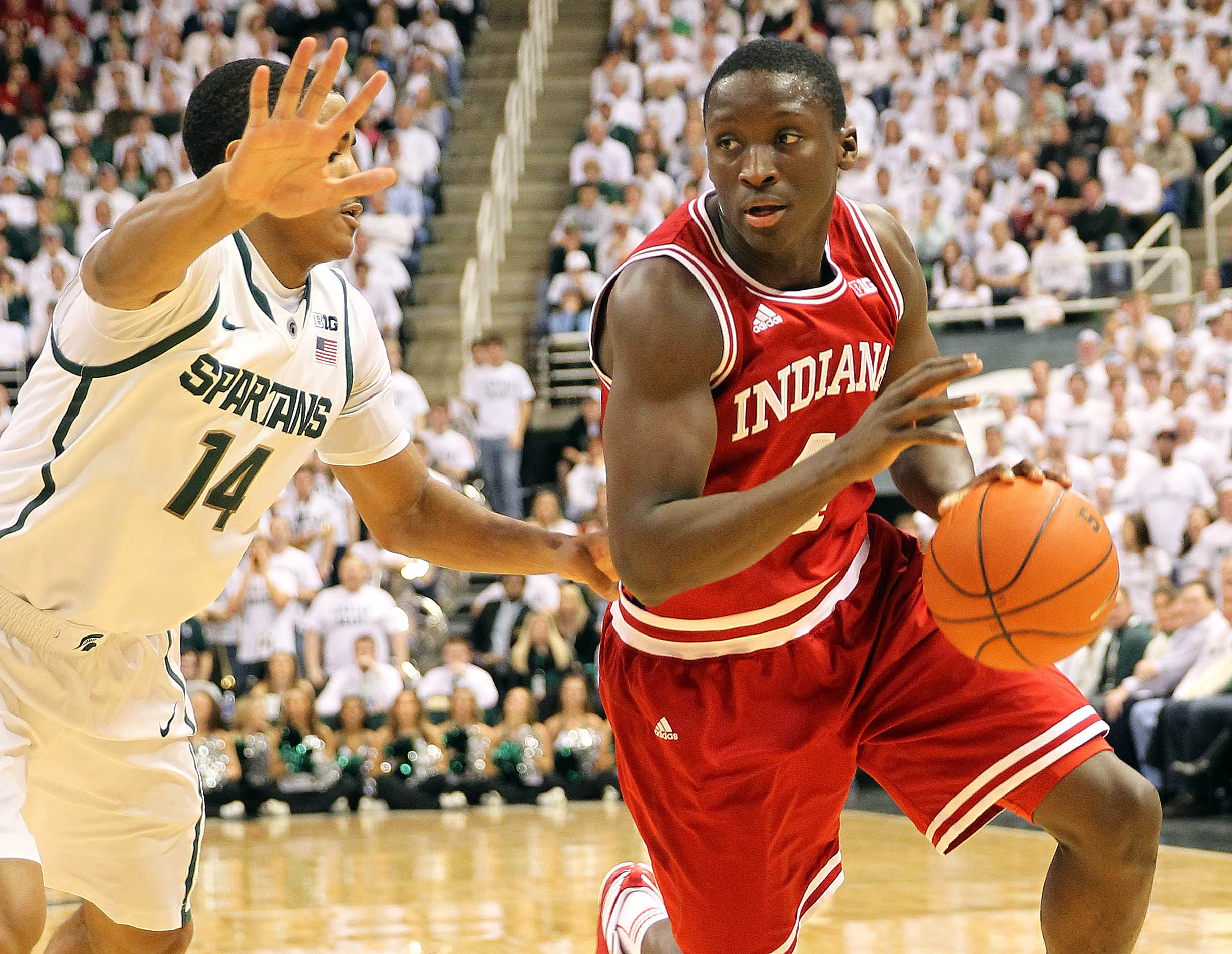 Indiana's Victor Oladipo. (Credit: USA Today Sports)
