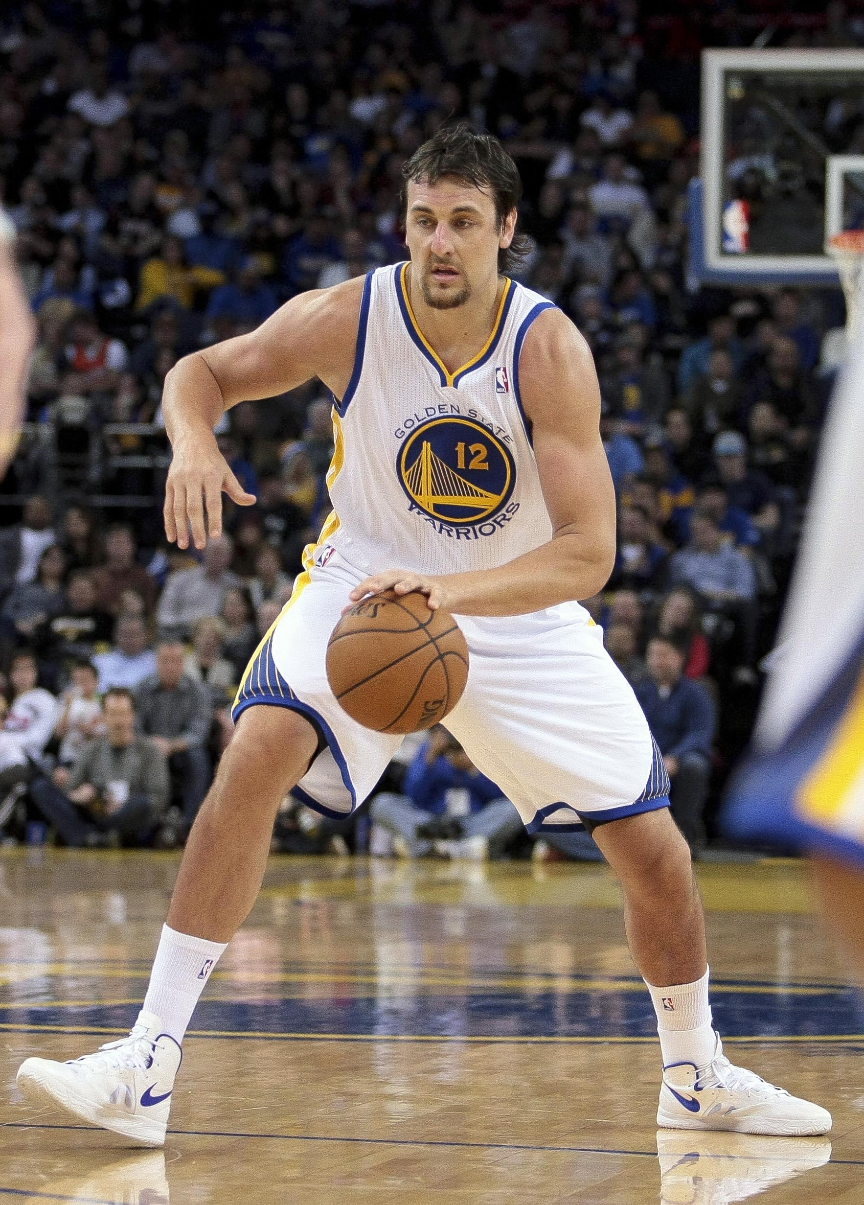 Andrew Bogut has been cleared for more playing time. (USAT)