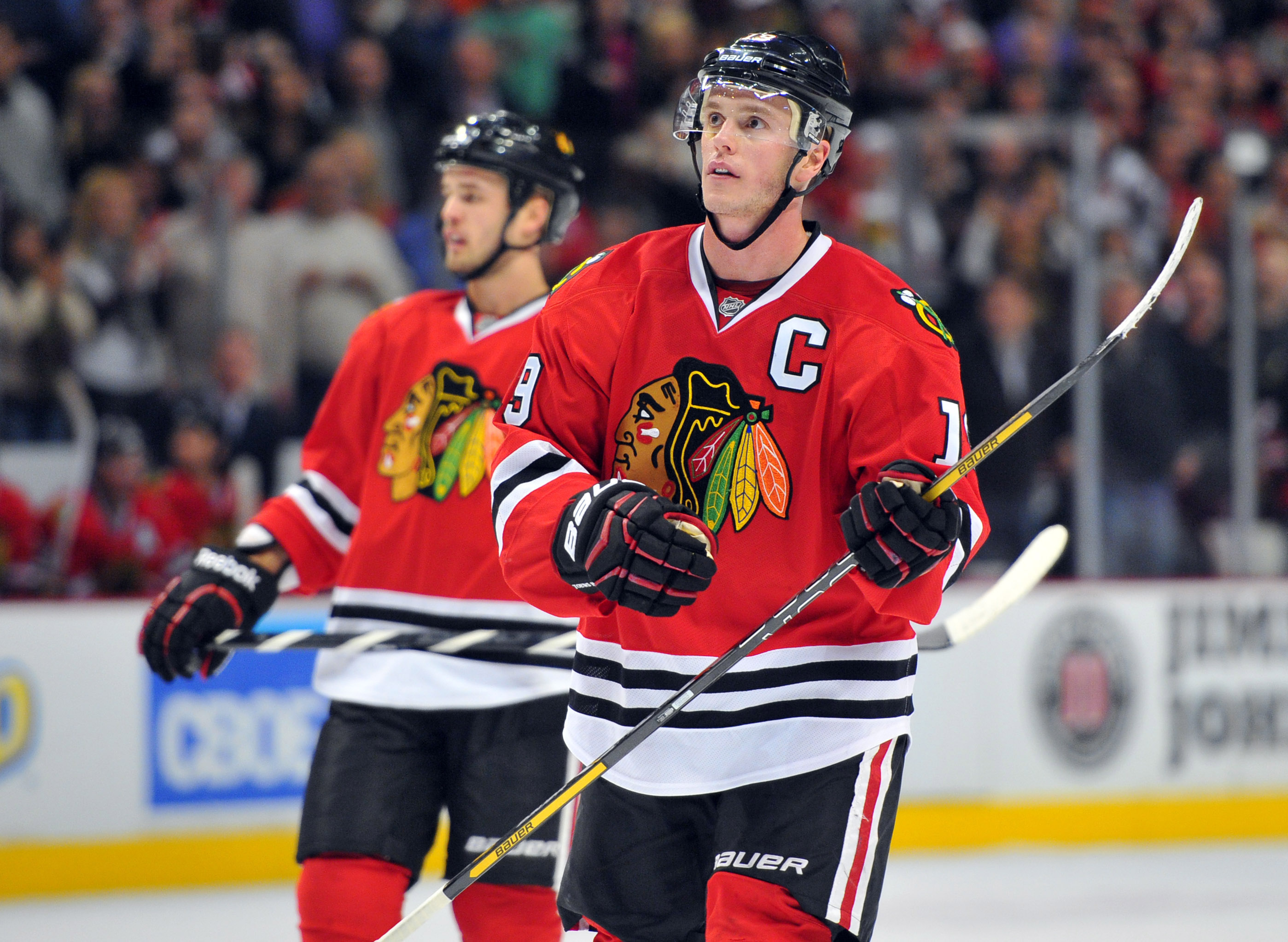 Chicago's star players, such as captain Jonathan Toews, have also been its best players. (USA Today)