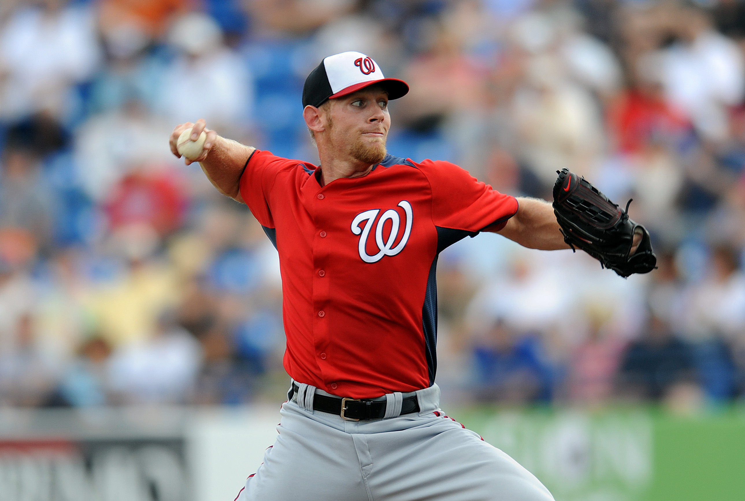 Much rests on the body and mechanics of phenom Stephen Strasburg. (USA Today)
