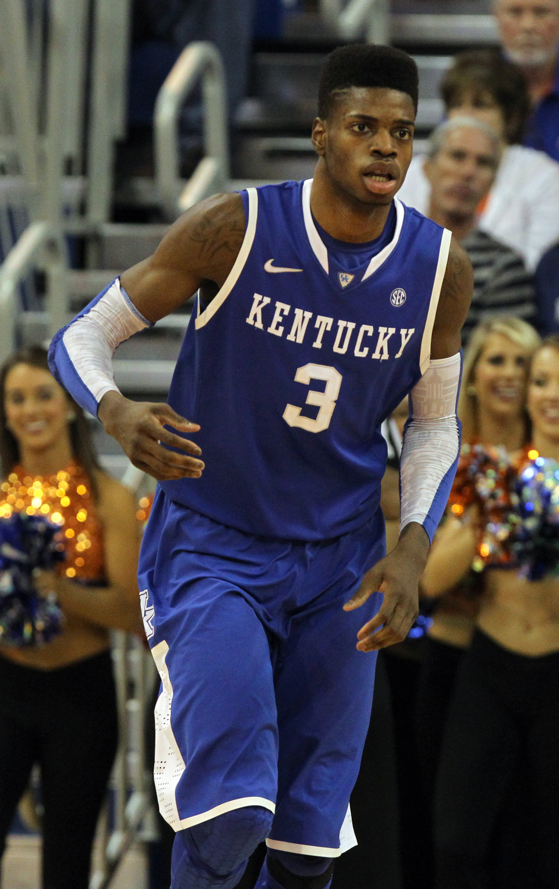 Nerlens Noel is recovering from knee surgery. (USA Today Sports)