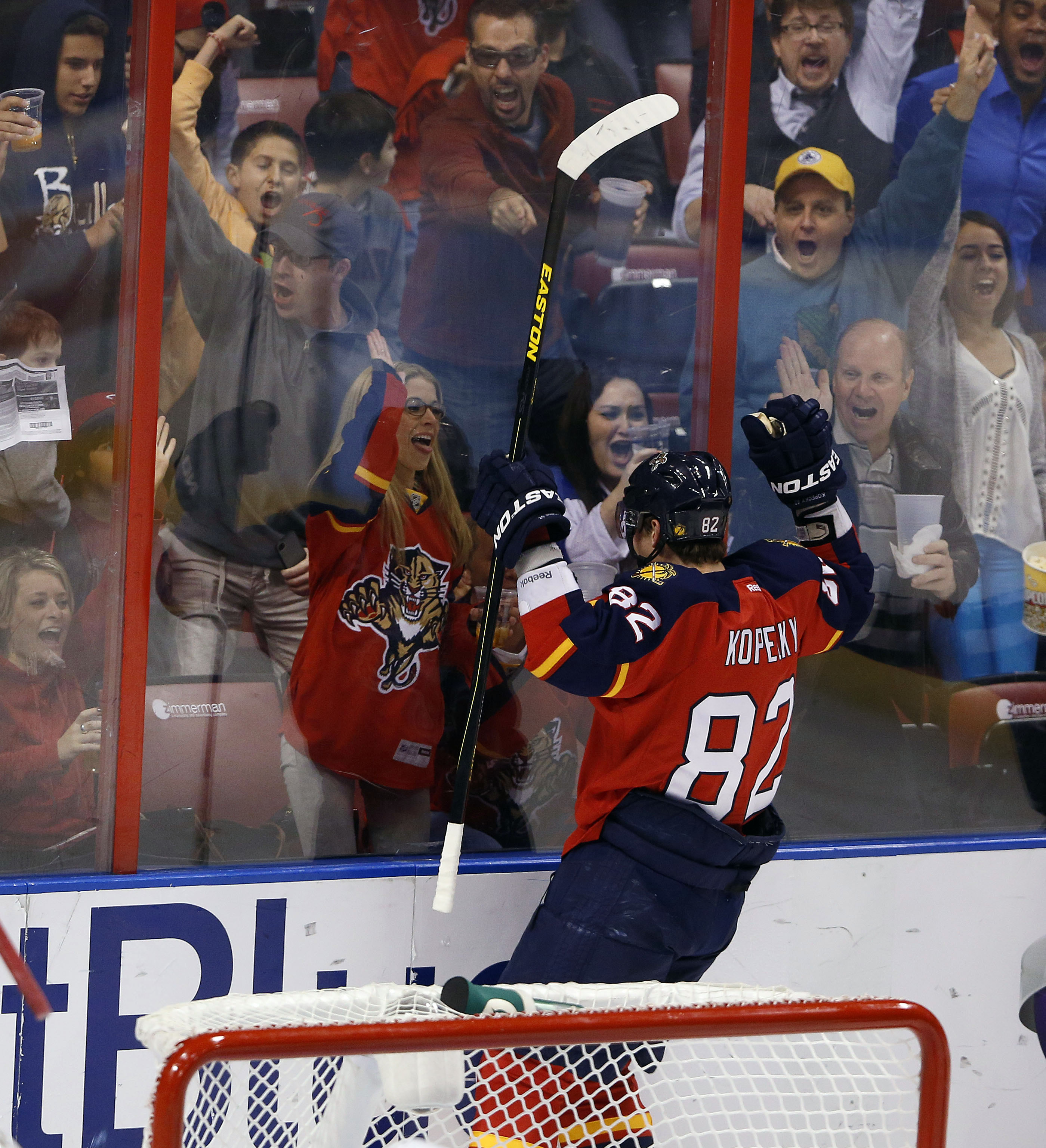 Tomas Kopecky's recent hat trick is worth getting excited about. (USAT)