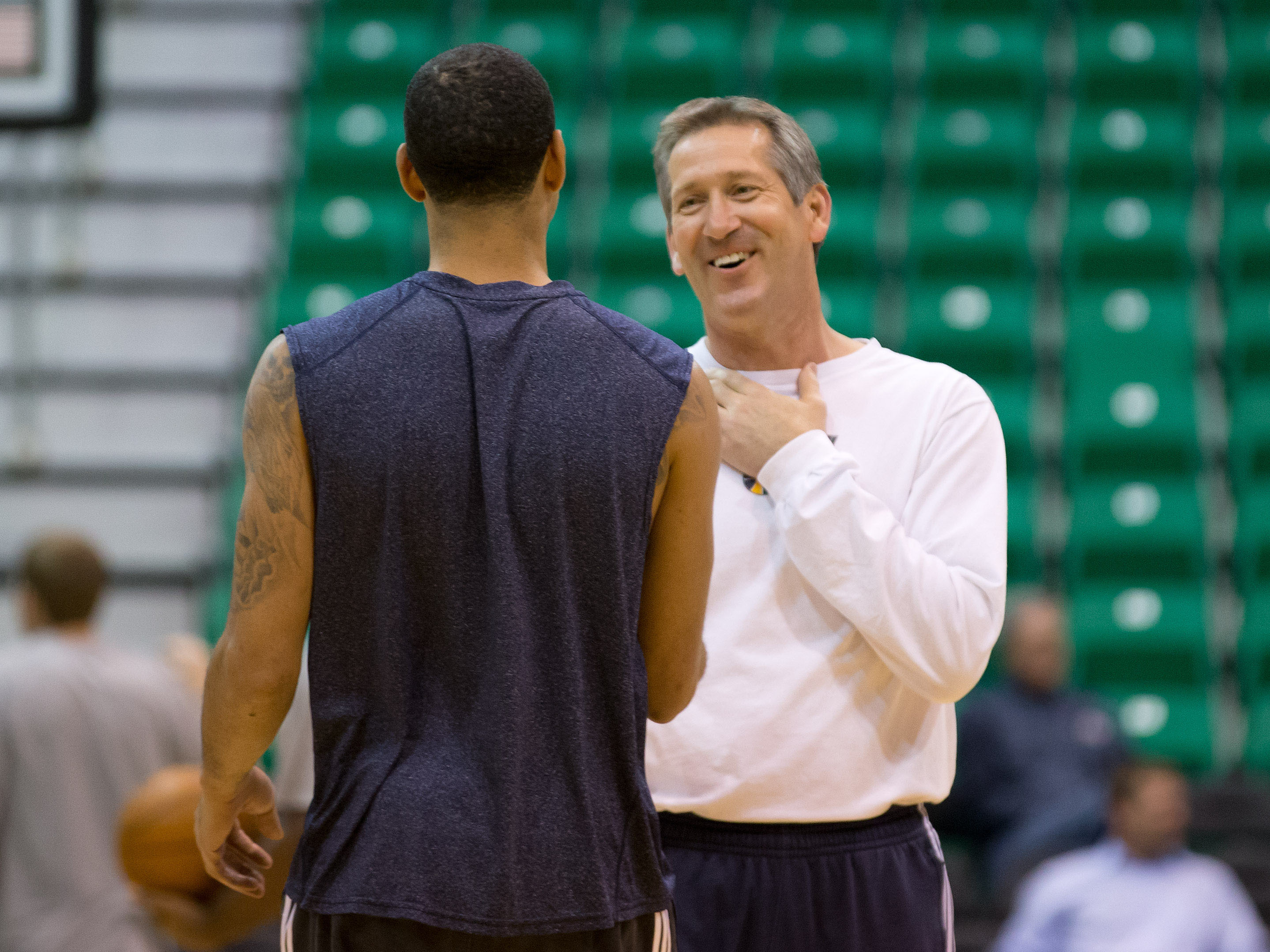 Jazz assistant Jeff Hornacek is the leading candidate to become the Suns' new head coach. (USA Today Sports)