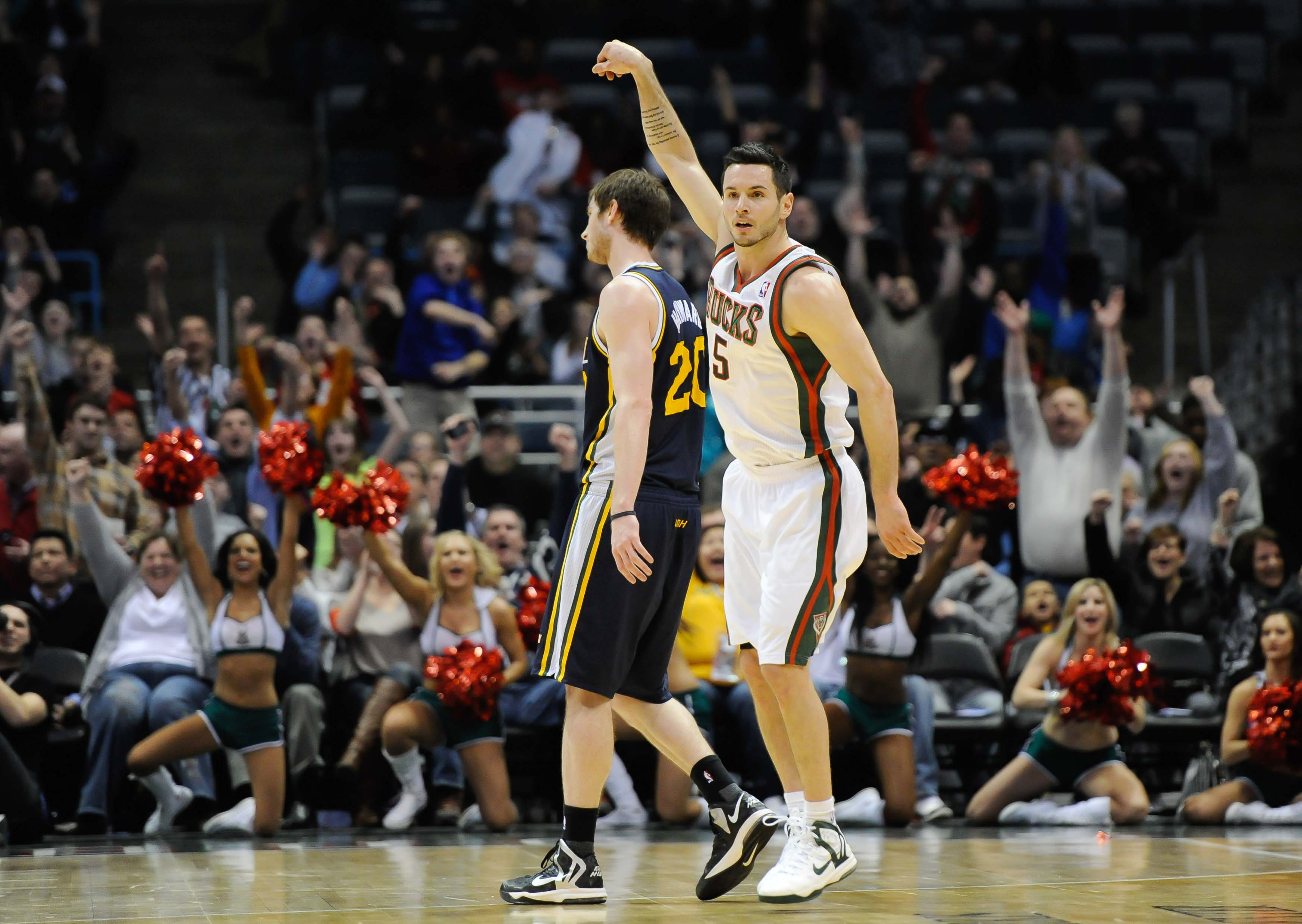 The Bucks have won four of five games since trading for J.J. Redick . (USA Today Sports)
