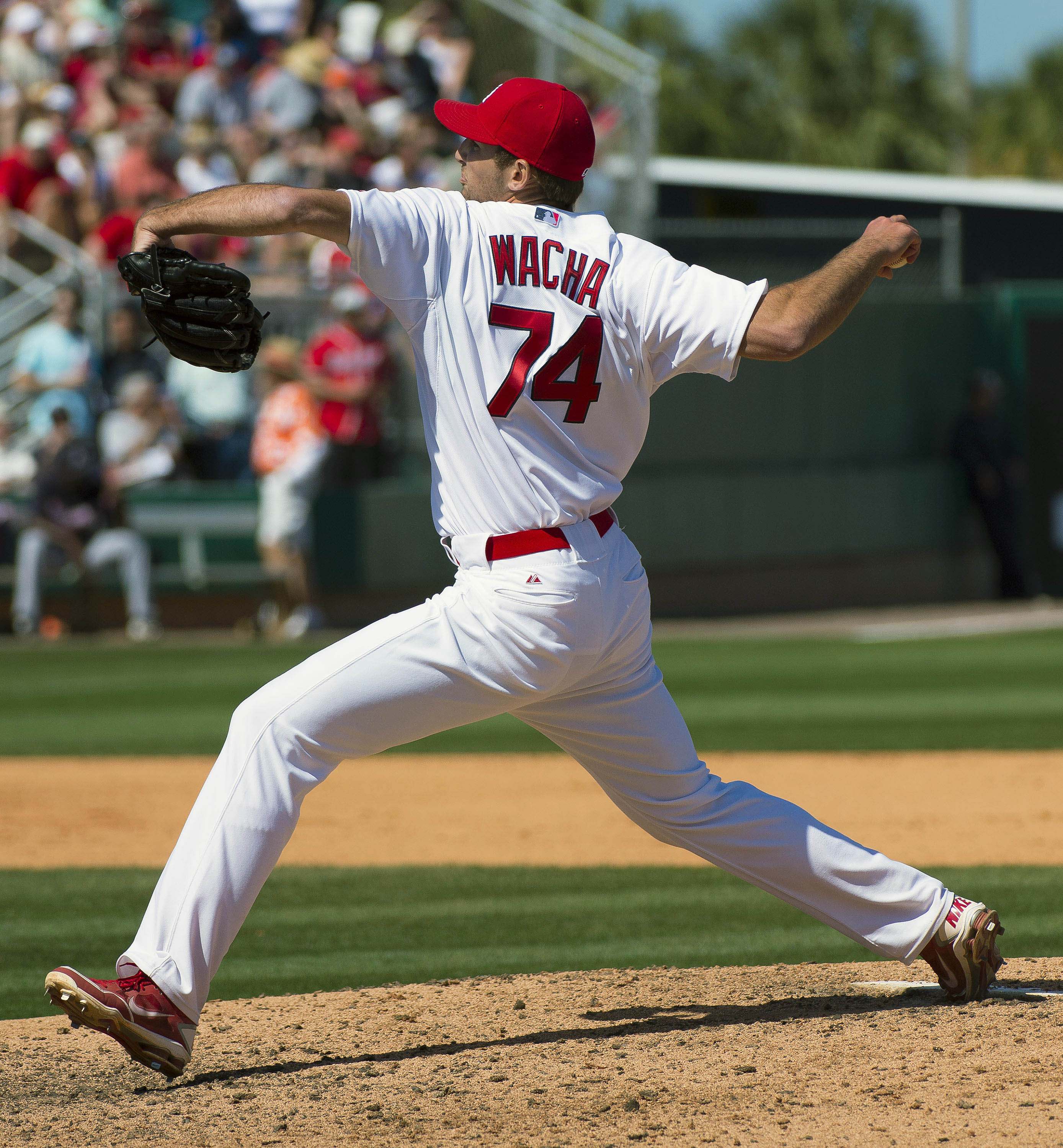 If Michael Wacha can improve his K rate, he could be special. (USAT)