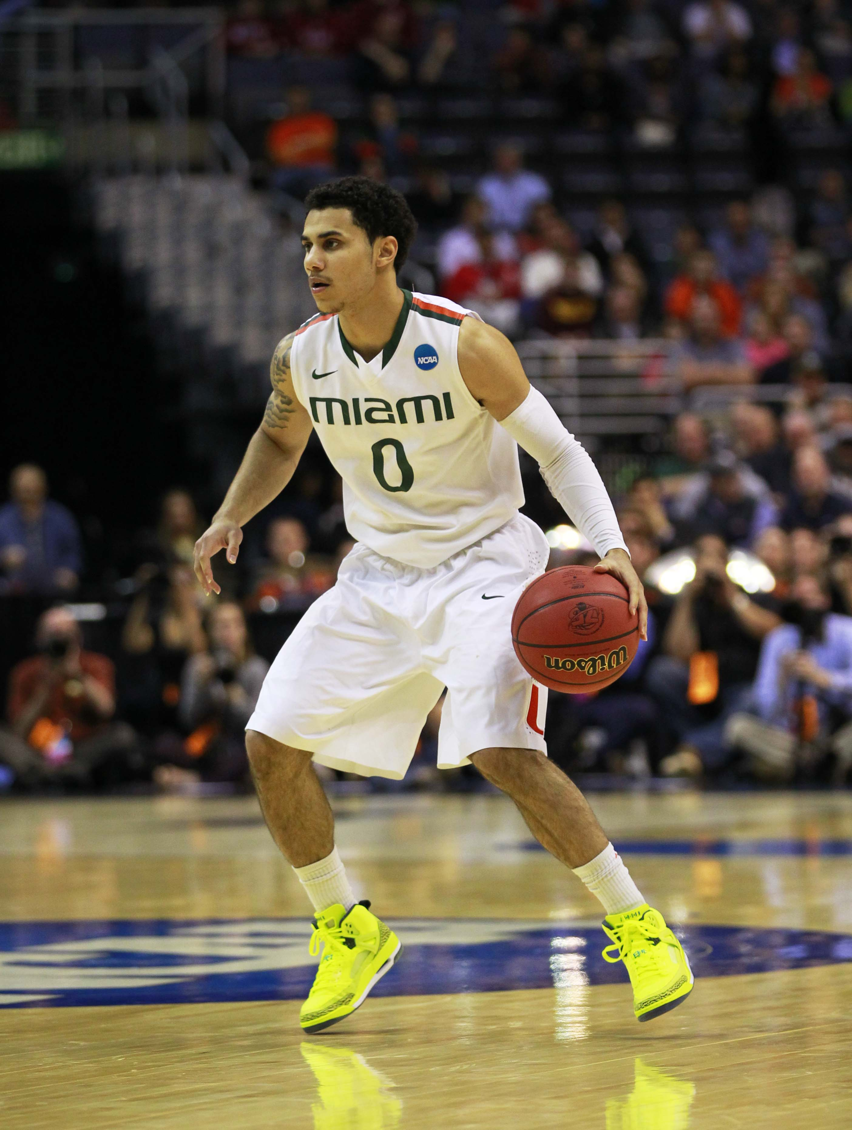 Shane Larkin averaged 14.5 points and 4.6 assists last season. (USA Today Sports)