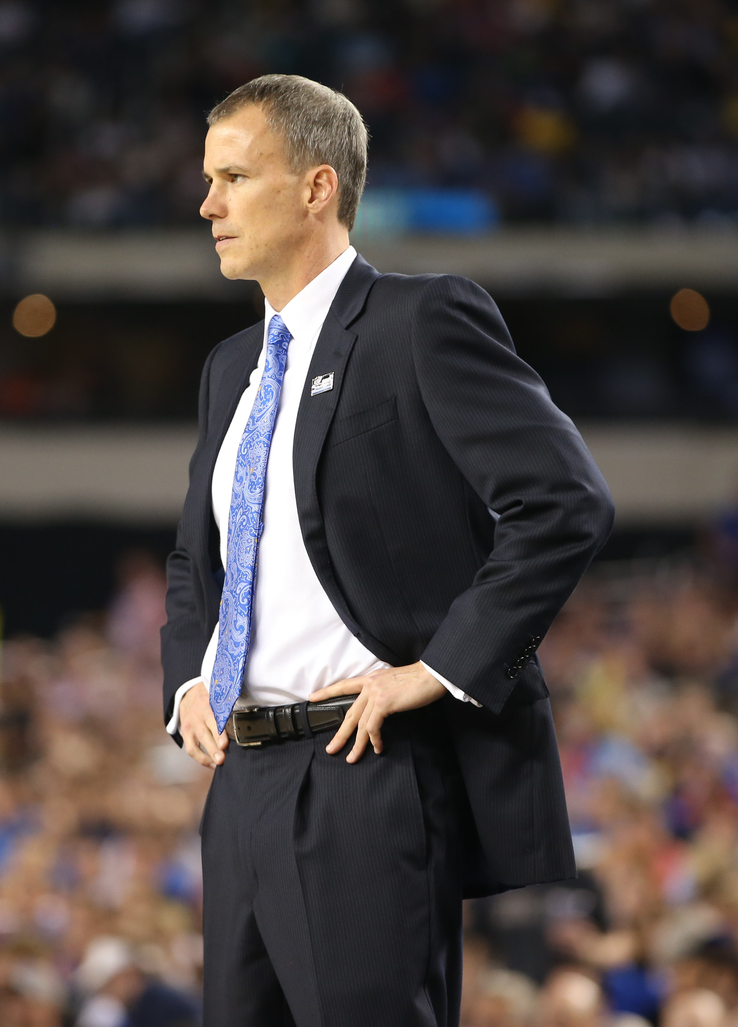 Andy Enfield led 15th seed FGCU on a historic tourney run. (USA TODAY Sports)