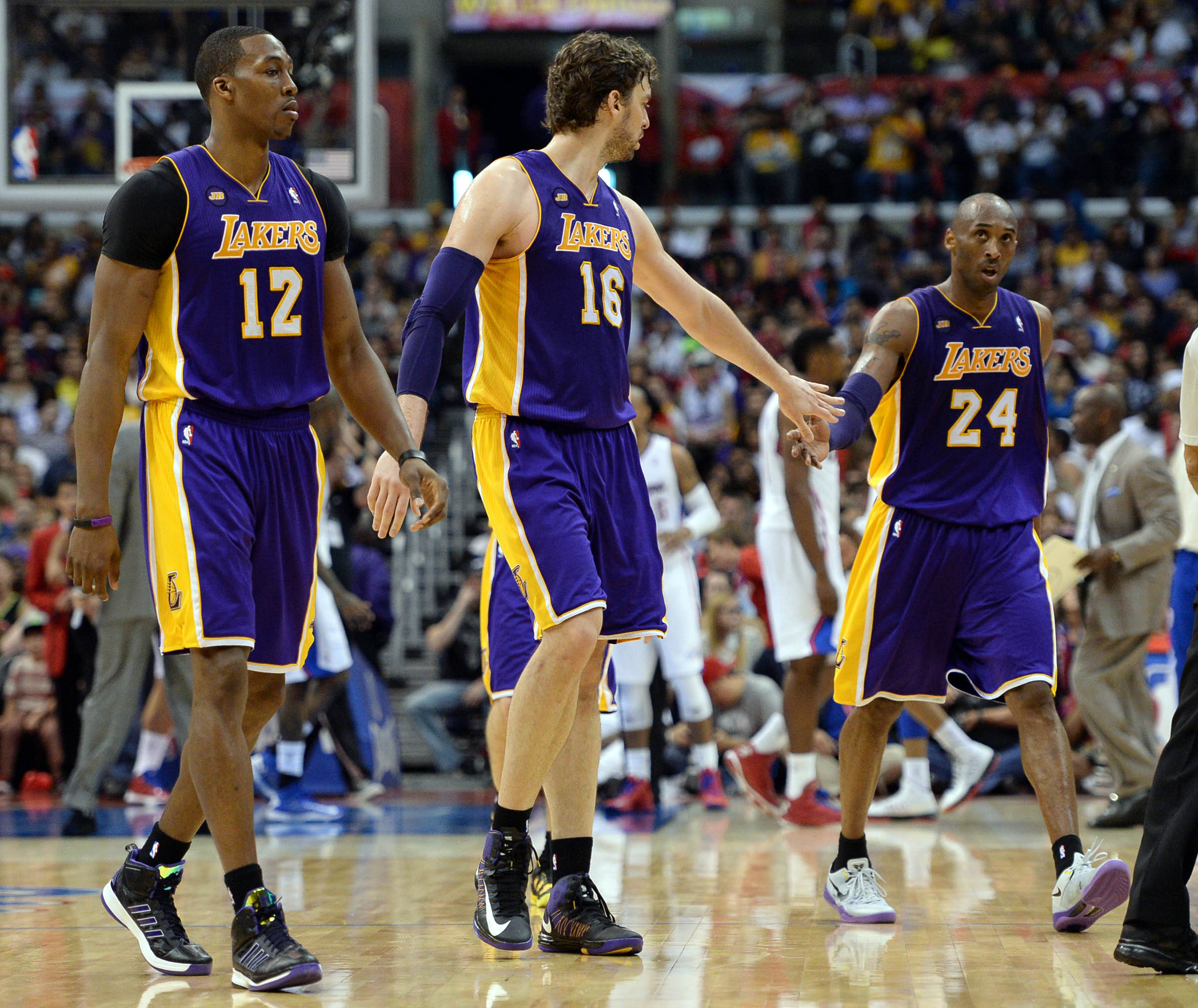 The Lakers have looked stronger as the playoffs have grown closer. (USA Today Sports)