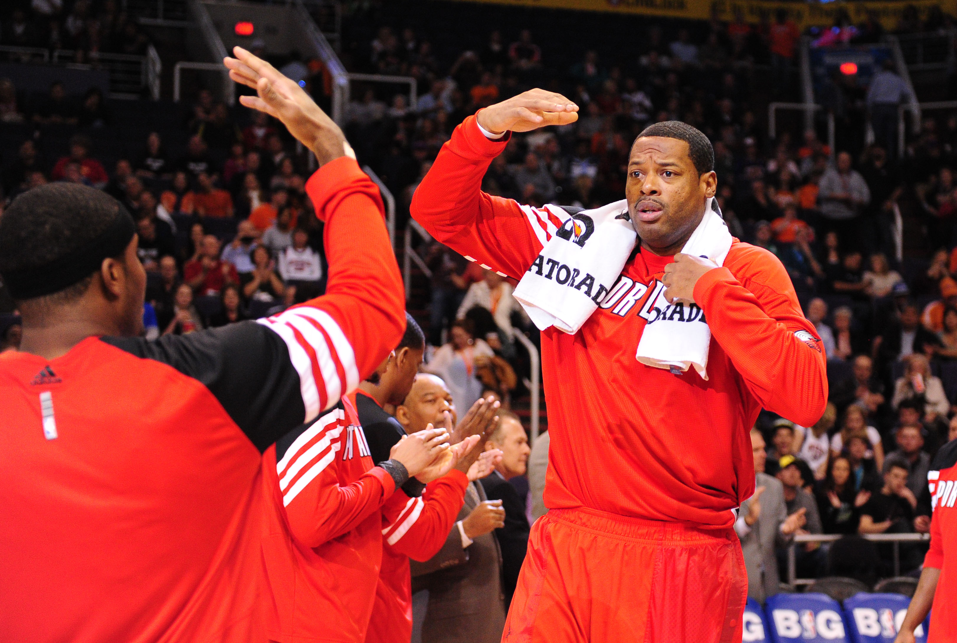 Marcus Camby was traded to the Raptors in the deal that sent Andrea Bargnani to the Knicks. (USA Today Sports)