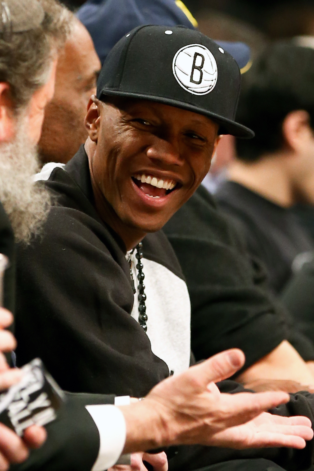 Zab Judah attends an NBA playoff game between the Brooklyn Nets and the Chicago Bulls. (USAT Sports)