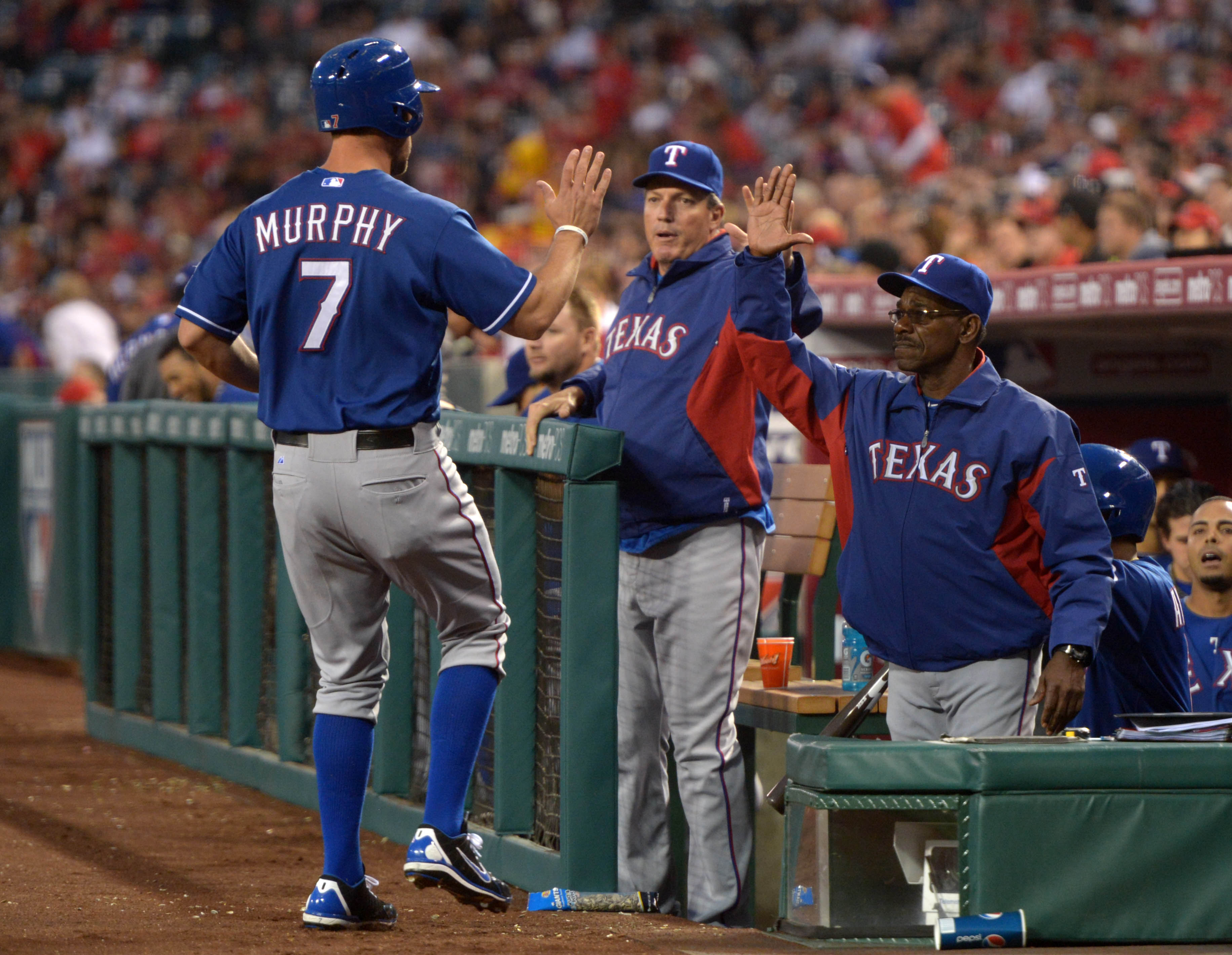 The Rangers haven't shown much of a letdown after an offseason in which they lost Josh Hamilton. (USA Today Sports)