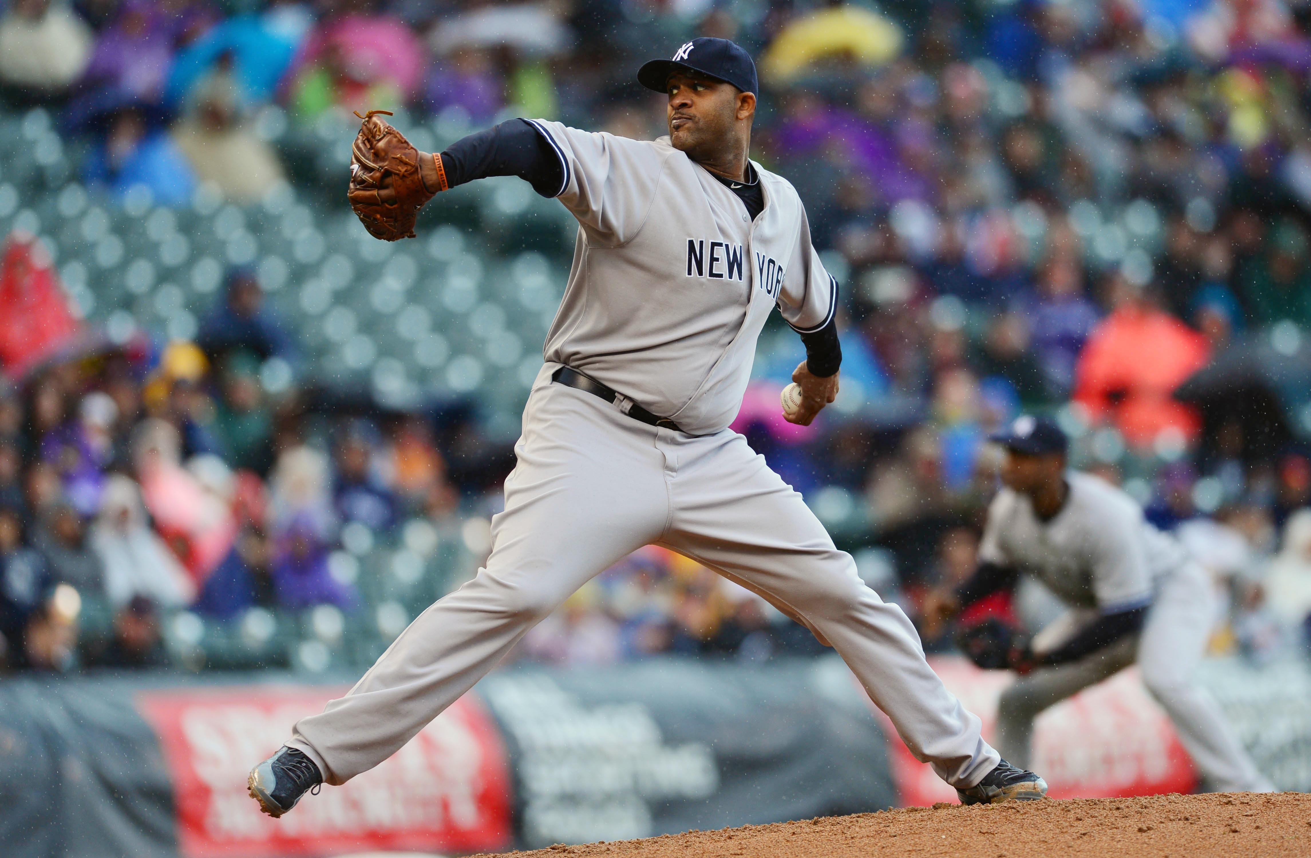CC Sabathia's velocity is down but he says he's relying on location to stay effective. (USA Today Sports)