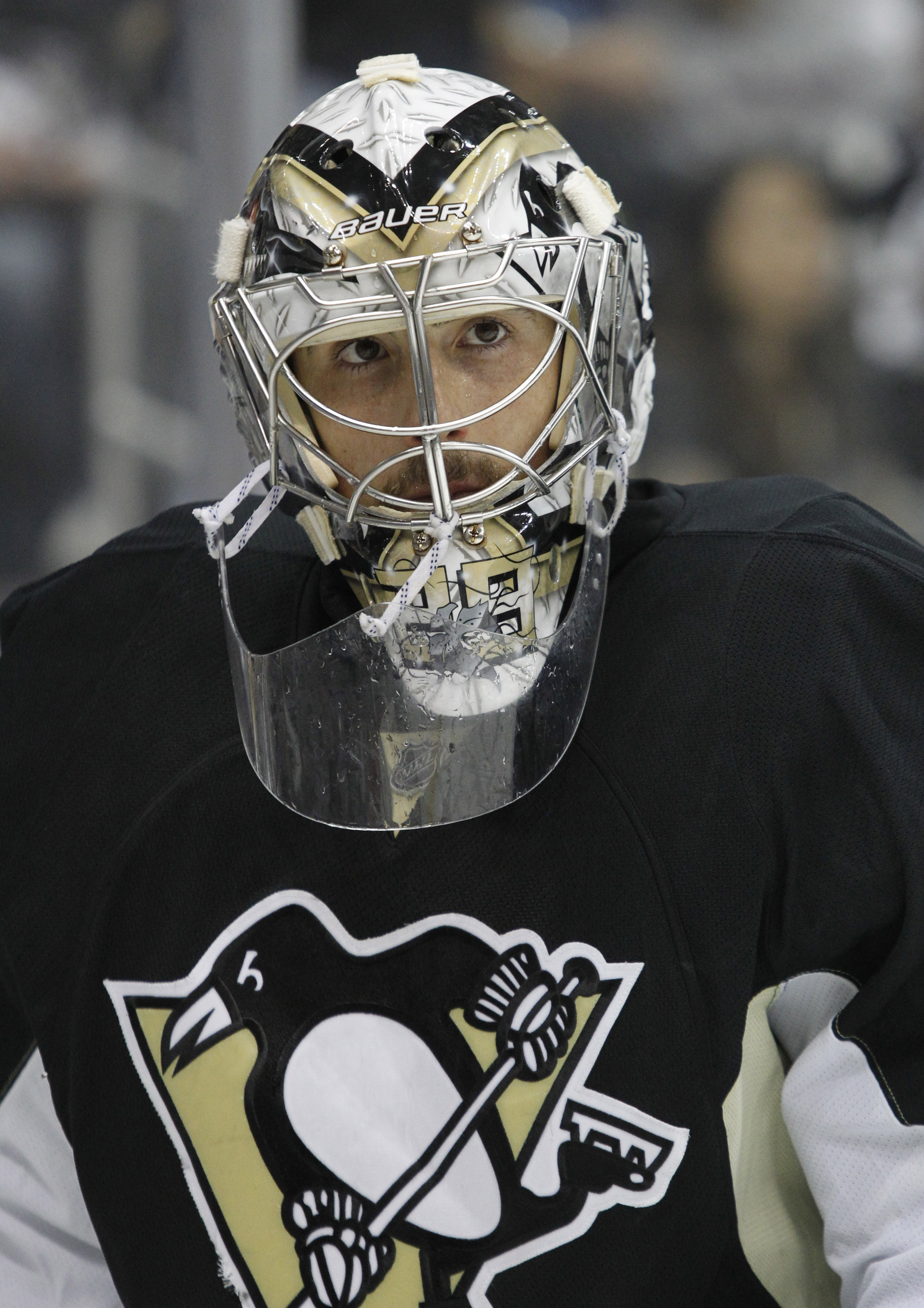 Marc-Andre Fleury, who has run hot and cold throughout his career, came unglued in 2013 playoffs. (USA Today)