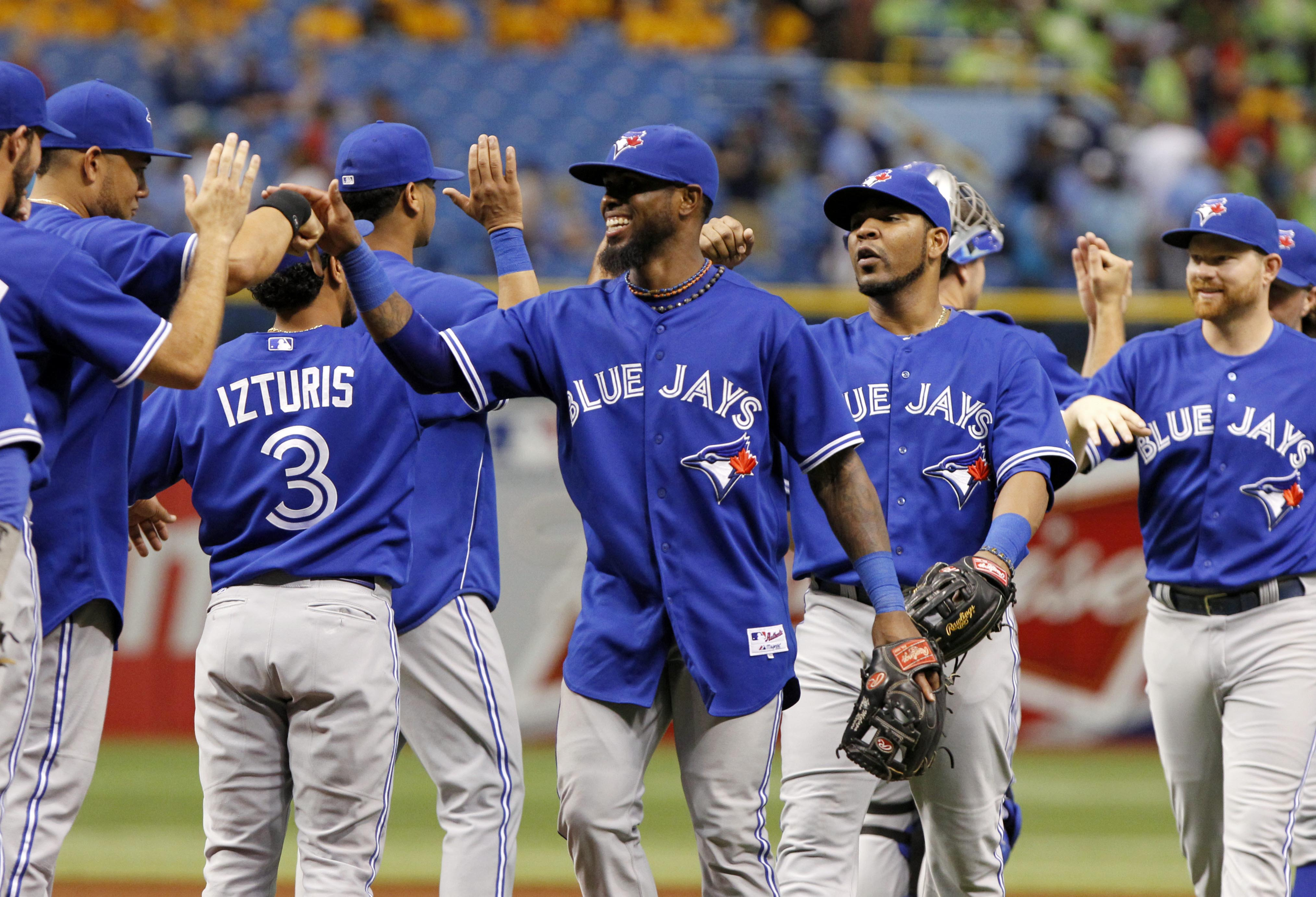 The Jays haven't faded away before the All-Star Game, even though things appeared bleak. (USA Today Sports)