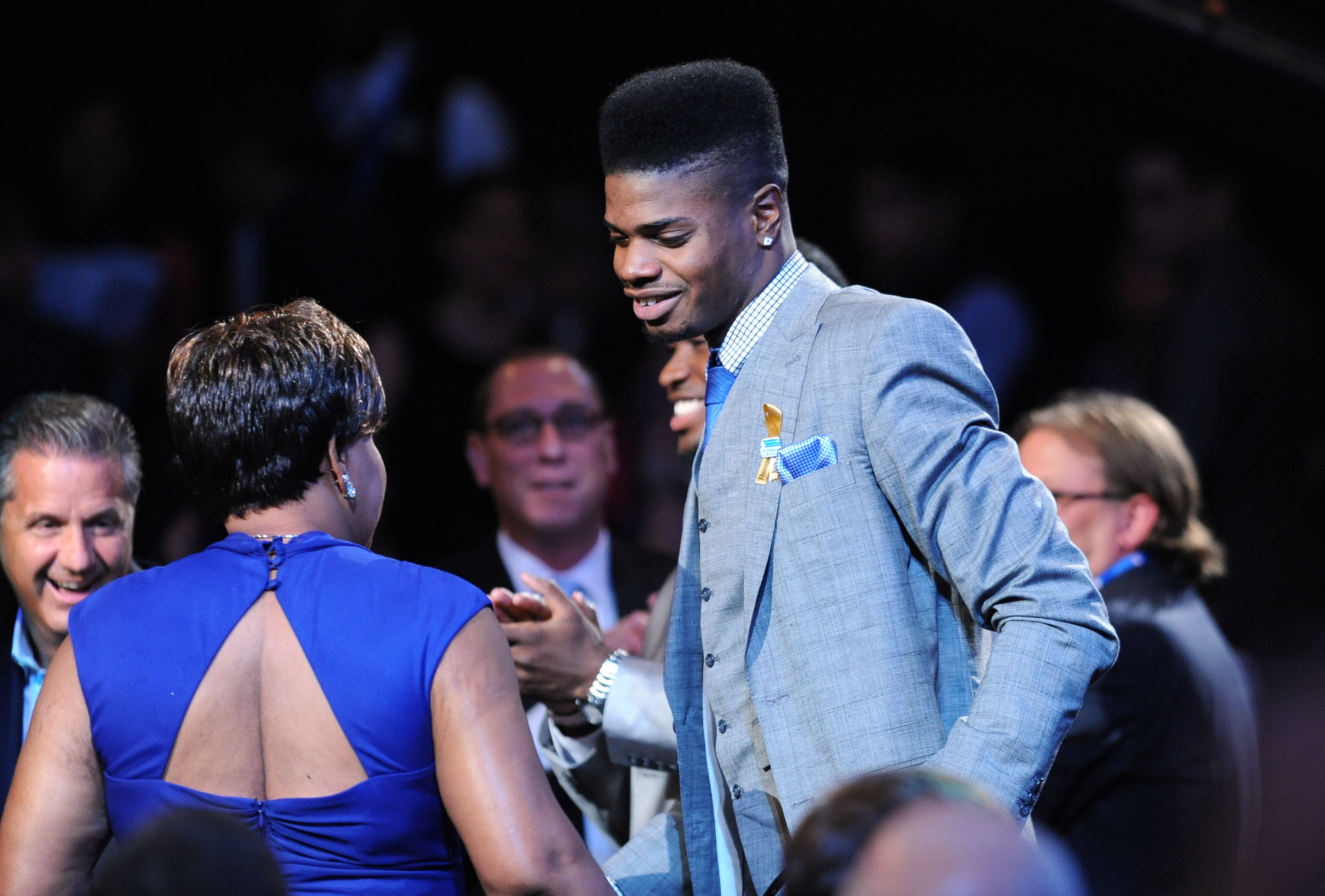 Nerlens Noel is headed to Philadelphia. (Jerry Lai-USA TODAY Sports)