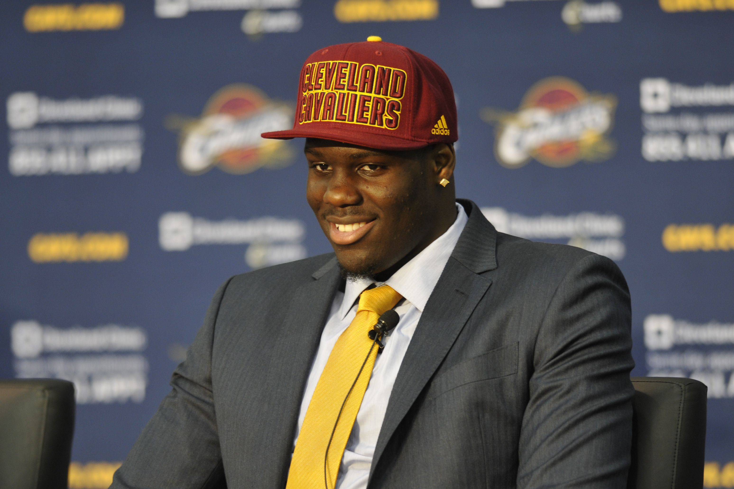 The Cavaliers made Anthony Bennett the top pick of the 2013 NBA draft. (USA Today Sports)