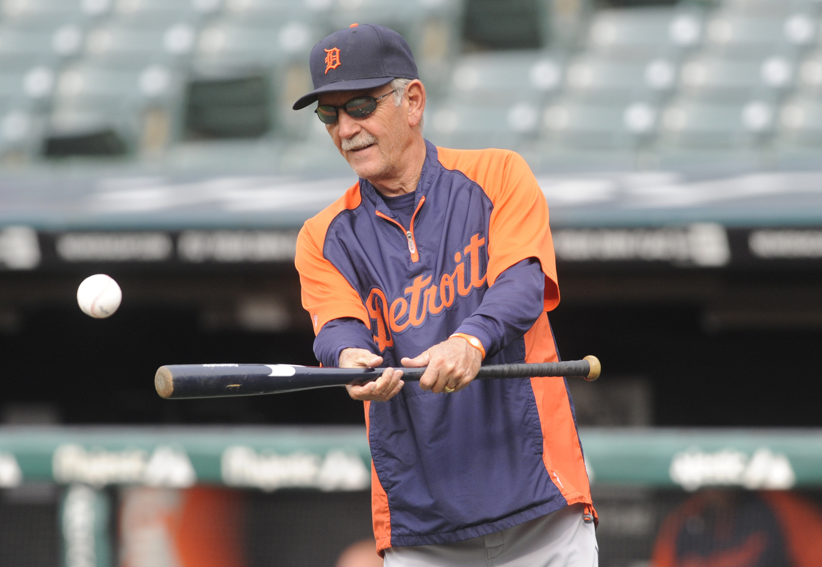 Tigers manager Jim Leyland said in spring training he has no plans to retire. (USA Today Sports)