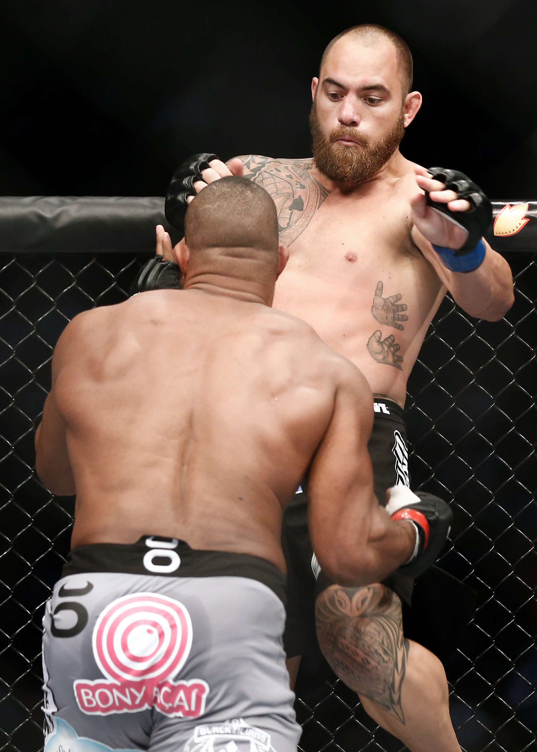 Travis Browne is currently ranked eighth in MMAWeekly's heavyweight rankings. (USA Today)