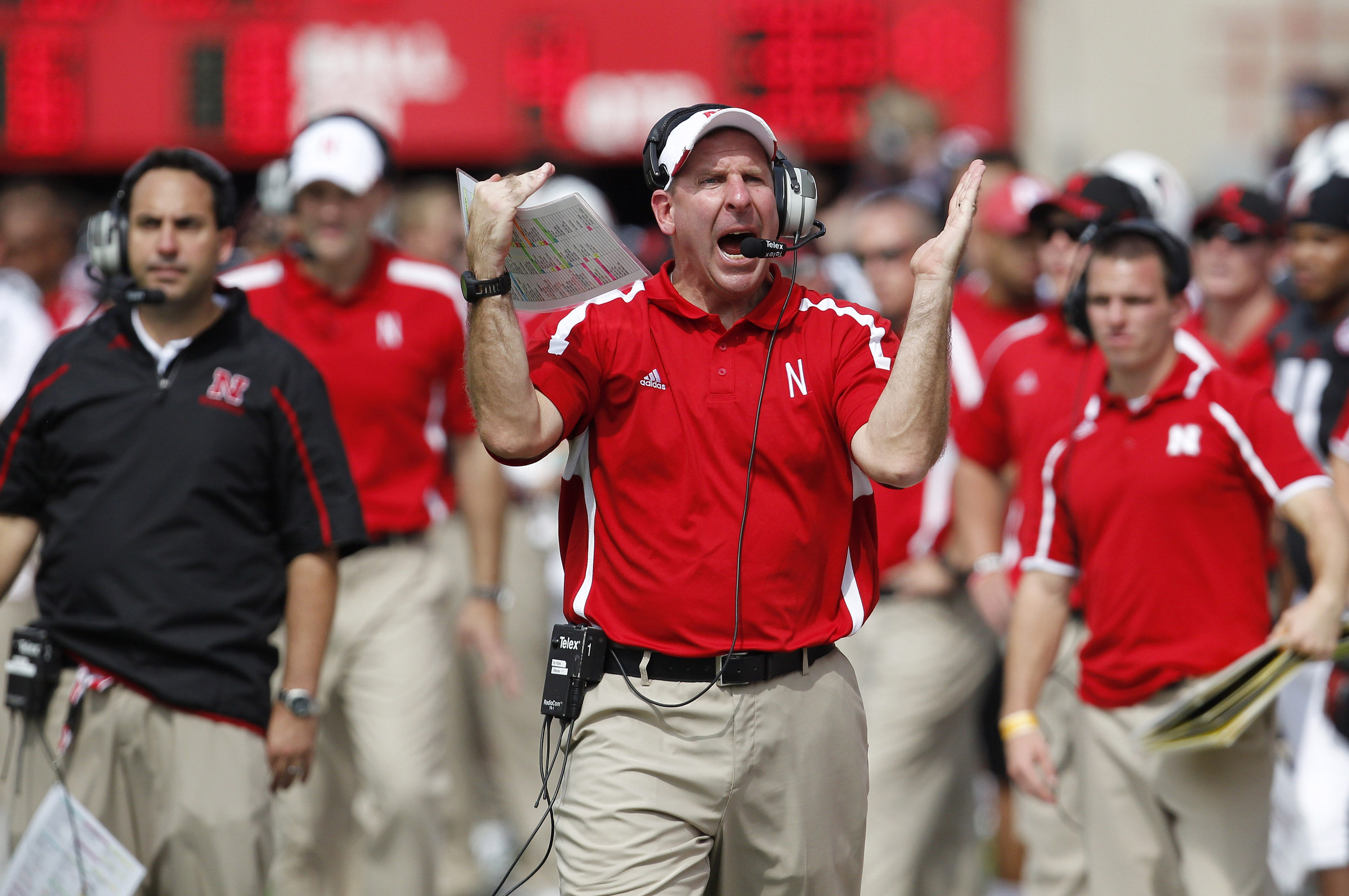 Bo Pelini's profanity-laced tirade has the Cornhuskers head coach on the hot seat. (USA TODAY Sports)