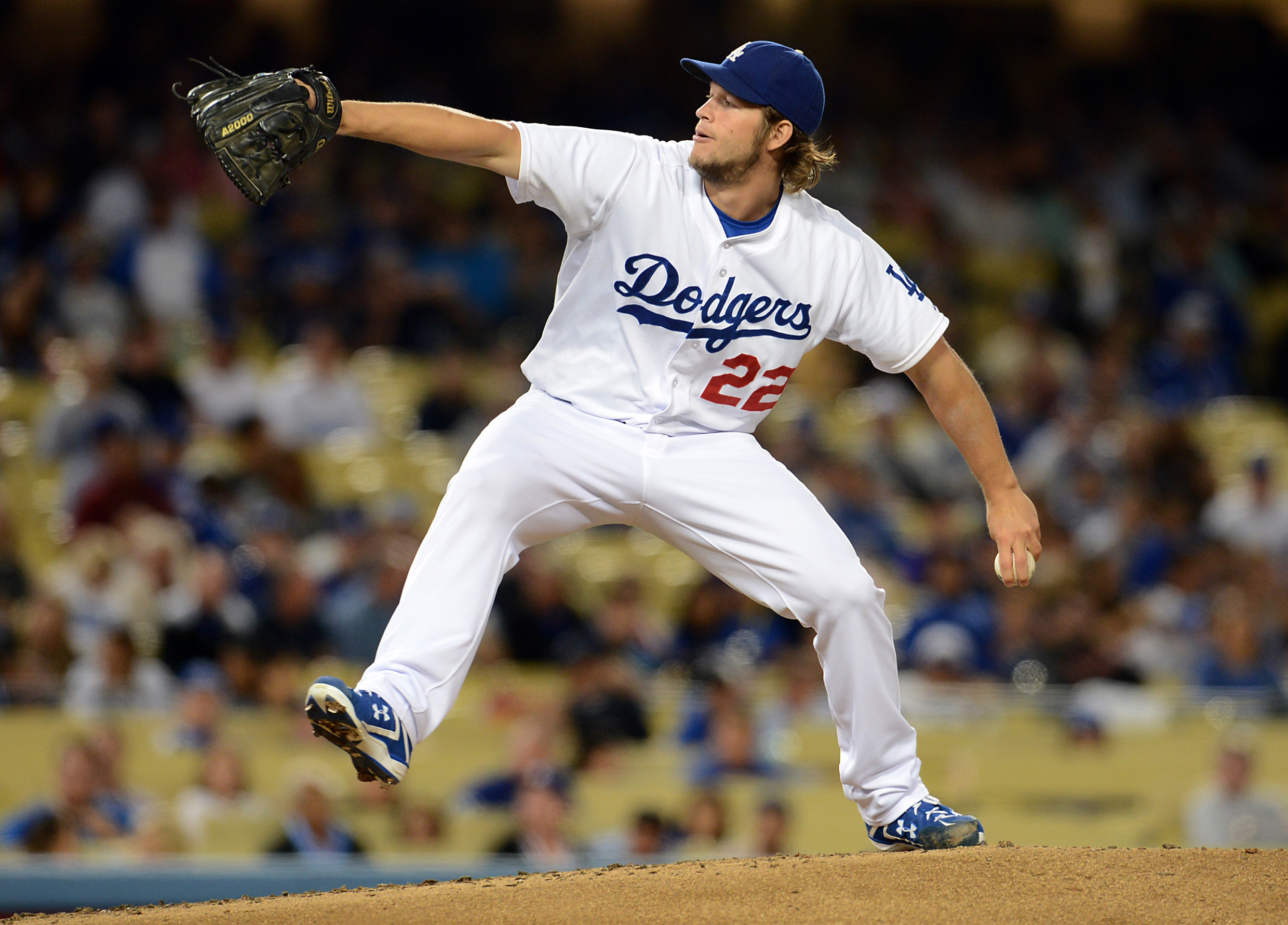 Clayton Kershaw is the runaway favorite to win the NL Cy Young award. (USA Today)
