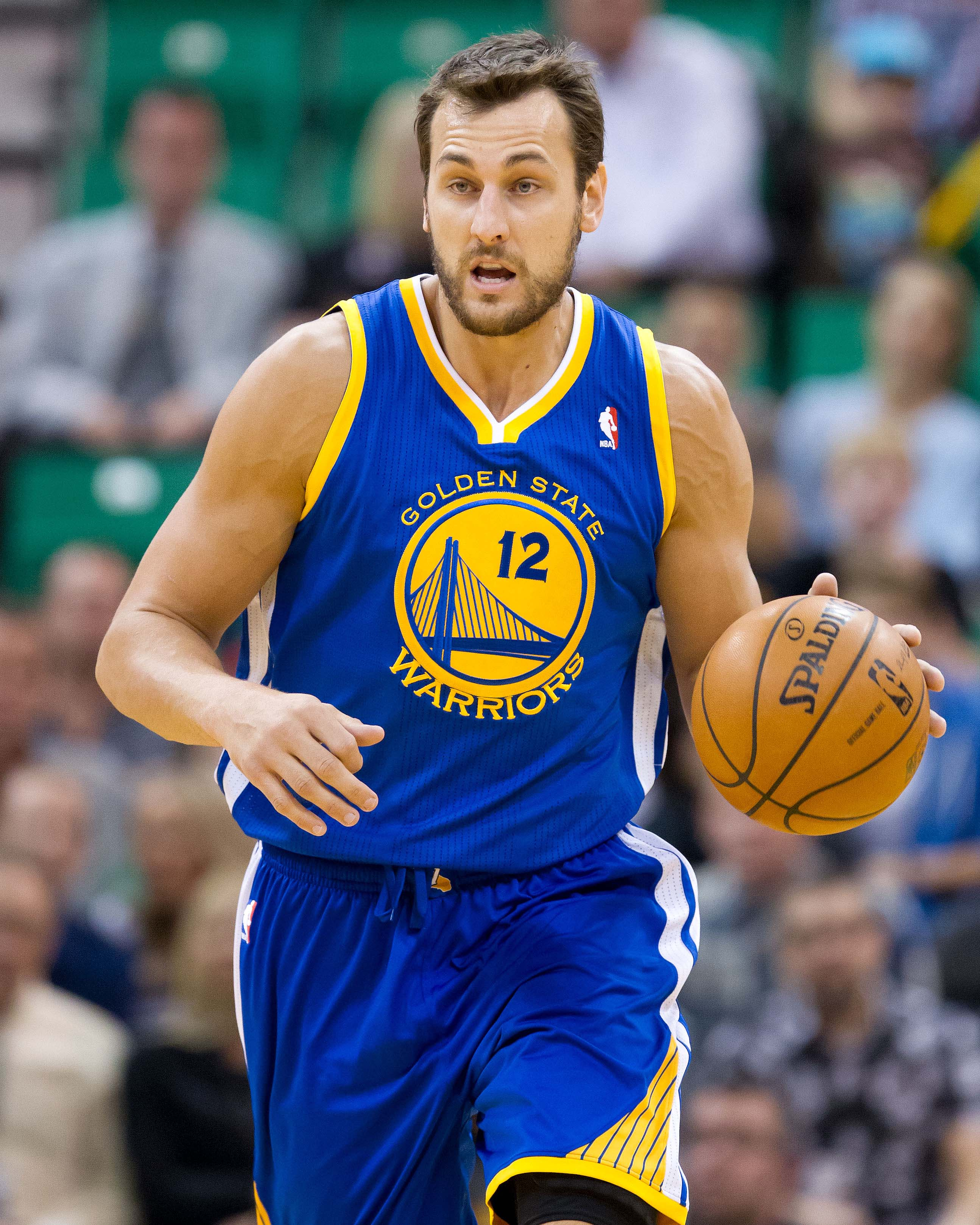 Andrew Bogut was traded to the Warriors midway through the 2011-12 season. (USA Today)