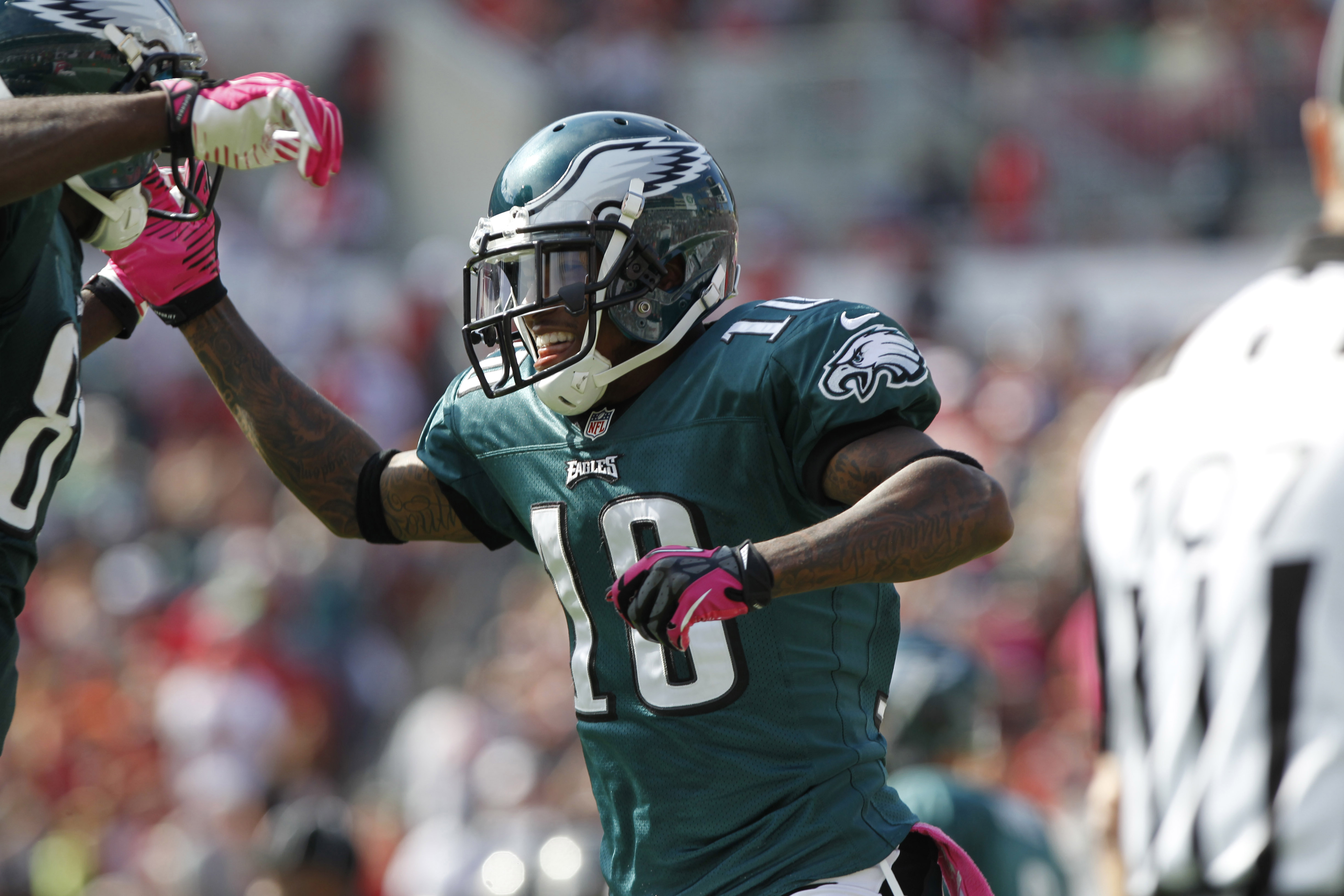 DeSean Jackson had a pleasant trip to Revis Island in Week 6. (USAT)