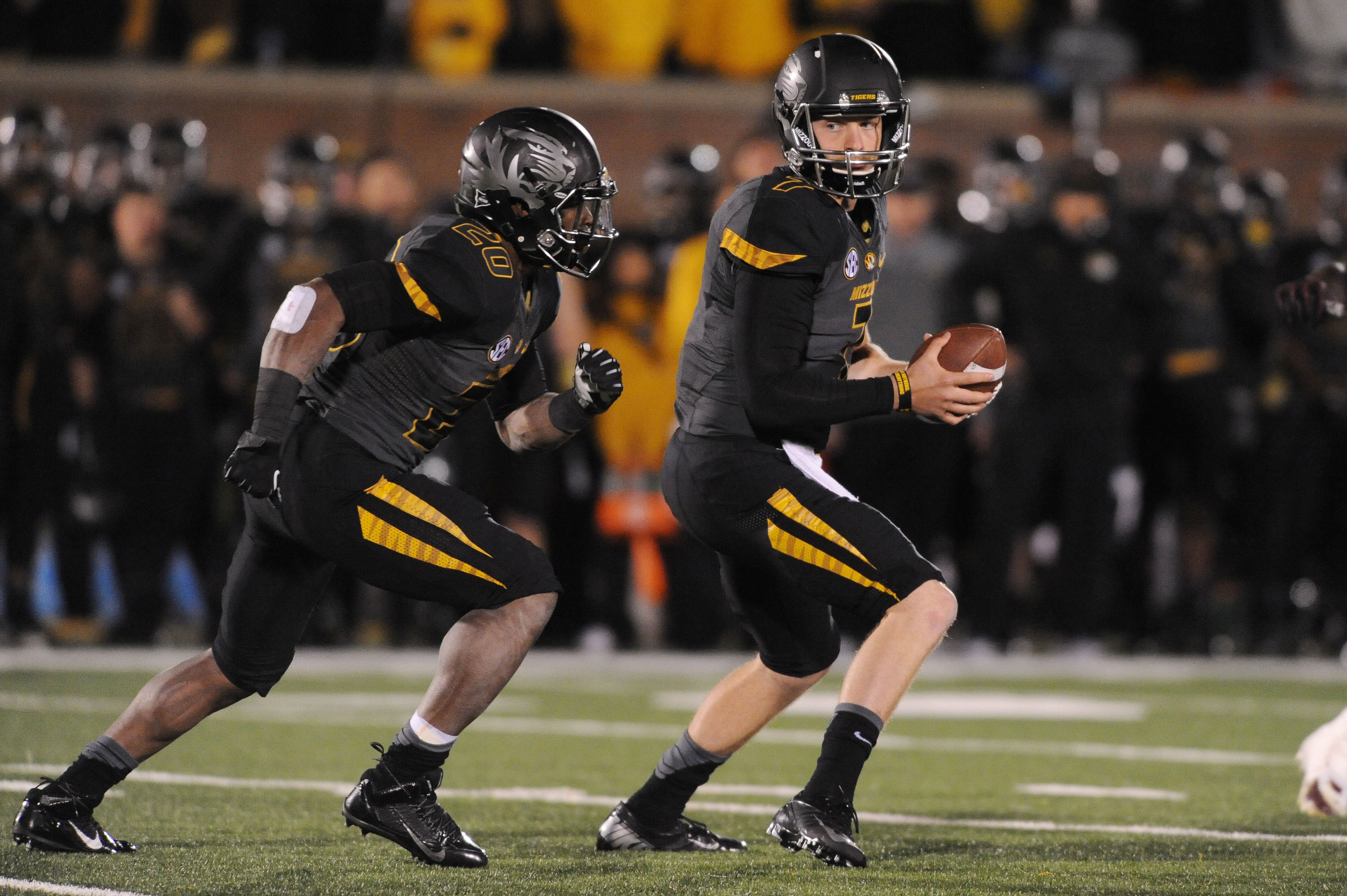 Maty Mauk finished the night 10-of-25 for 249 yards, one TD and one INT. (USA Today)