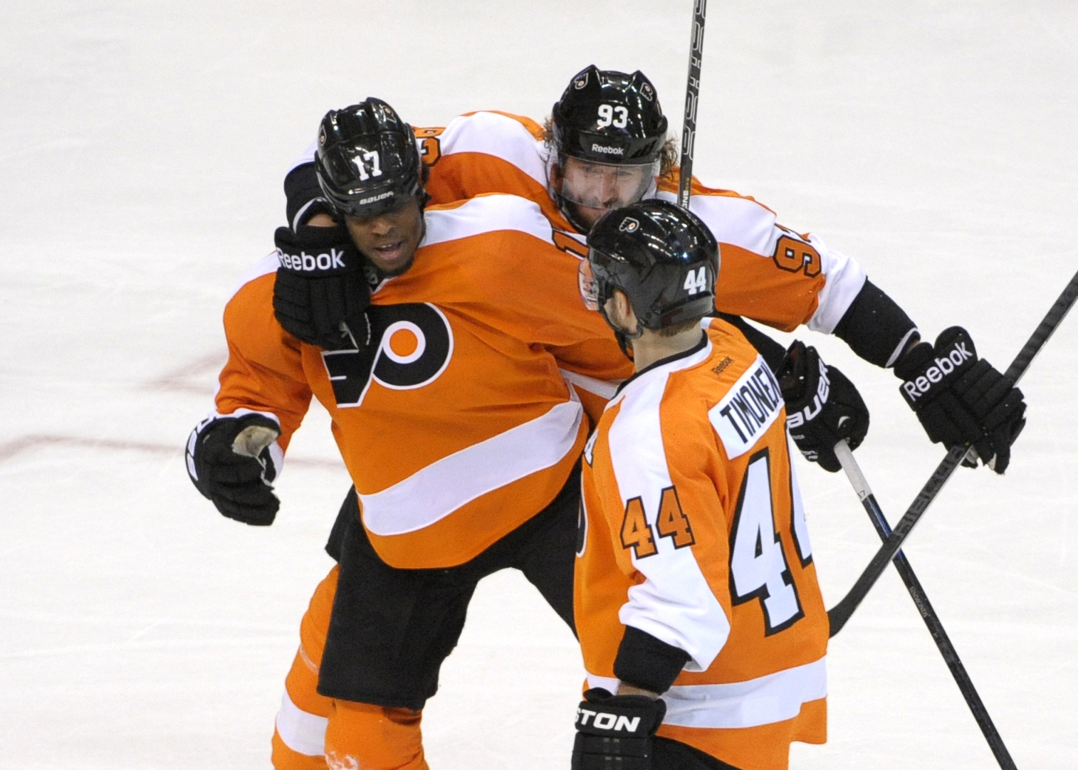 Playoff Hat Trick: Make It Three Game 7s After Flyers' Wayne Simmonds Breaks Out Vs. Rangers