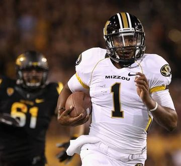 James Franklin's running ability is a big part of Mizzou's offense. (AP)
