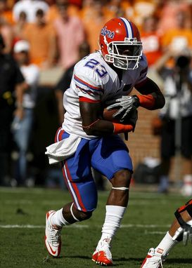 Mike Gillislee has to make the jump from little-used reserve to feature back this fall. (AP)