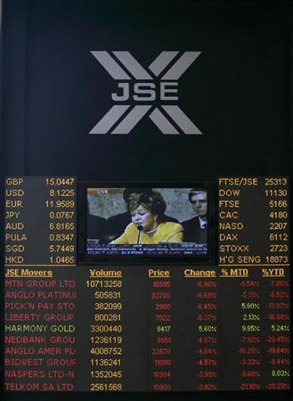 s.africa's jse says trade halted due to glitch