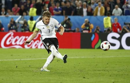 Germany's Schweinsteiger ends international career