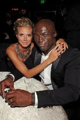 Heidi Klum and husband Seal attend the Fox Broadcasting Company, Twentieth Century Fox Television and FX 2010 Emmy Nominee Party held at Cicada, Los Angeles, August 29, 2010 -- Getty Images