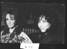 Vicky Teil and Elizabeth Taylor -- Courtesy of Vicky Tiel