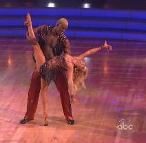 "Ron Artest and Peta Murgatroyd compete on Season 13, Episode 1 of ""Dancing with the Stars"" -- ABC"