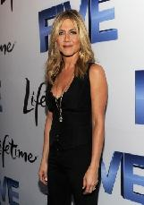 Executive Producer and Director Jennifer Aniston attends the premiere of Lifetime's Five, from Jennifer Aniston, Demi Moore, Alicia Keys at Skylight Soho, NYC, on September 26, 2011 -- Getty Images