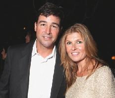 Kyle Chandler and Connie Britton are seen at Showtime&#39;s 2010 Emmy Nominees Party at Skybar at Mondrian in West Hollywood, Calif. on August 28, 2010  -- Getty Premium