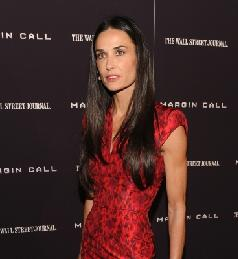 Demi Moore attends the 'Margin Call' premiere at the Landmark Sunshine Cinema, NYC, on October 17, 2011 -- Getty Images