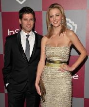 Kyle Martino and Eva Amurri arrive at the 2011 InStyle And Warner Bros. 68th Annual Golden Globe Awards post-party held at The Beverly Hilton hotel, Beverly Hills, on January 16, 2011 -- WireImage