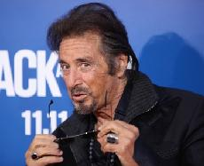 Al Pacino strikes a pose at the Los Angeles premiere of &#39;Jack And Jill&#39; in Westwood, Calif., on November 6, 2011 -- FilmMagic
